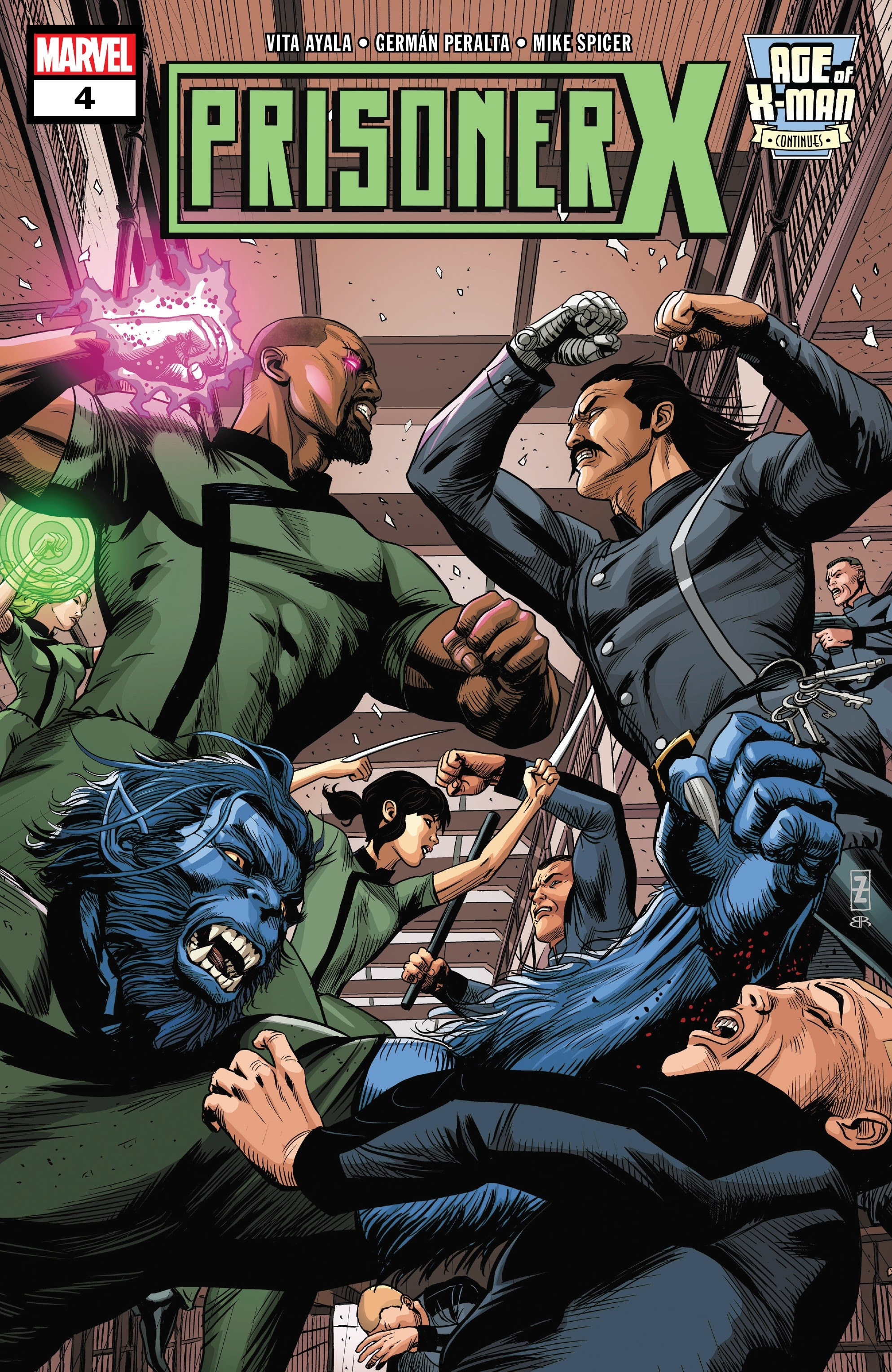Age of X-Man: Prisoner X 4 Page 1