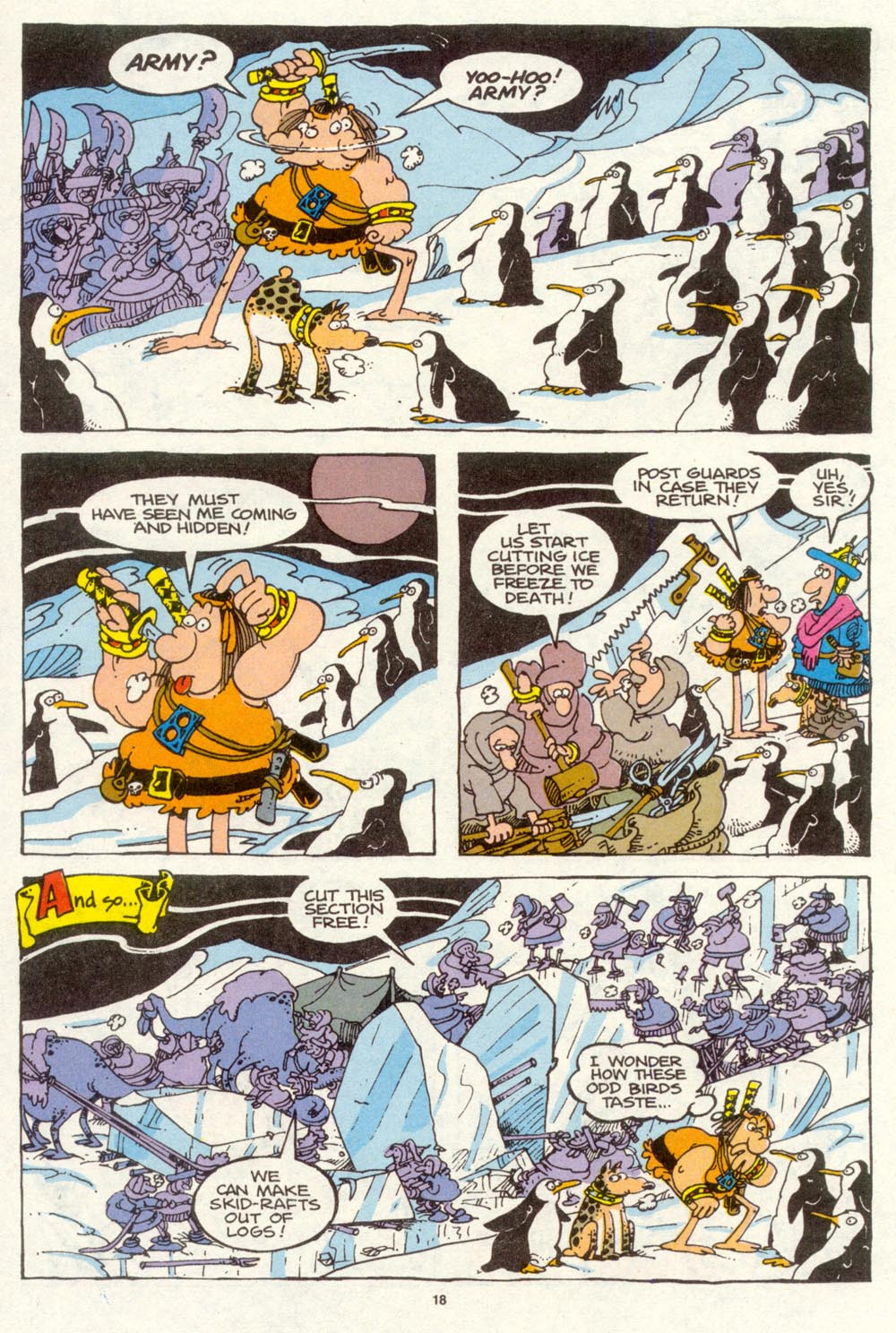 Read online Sergio Aragonés Groo the Wanderer comic -  Issue #94 - 19