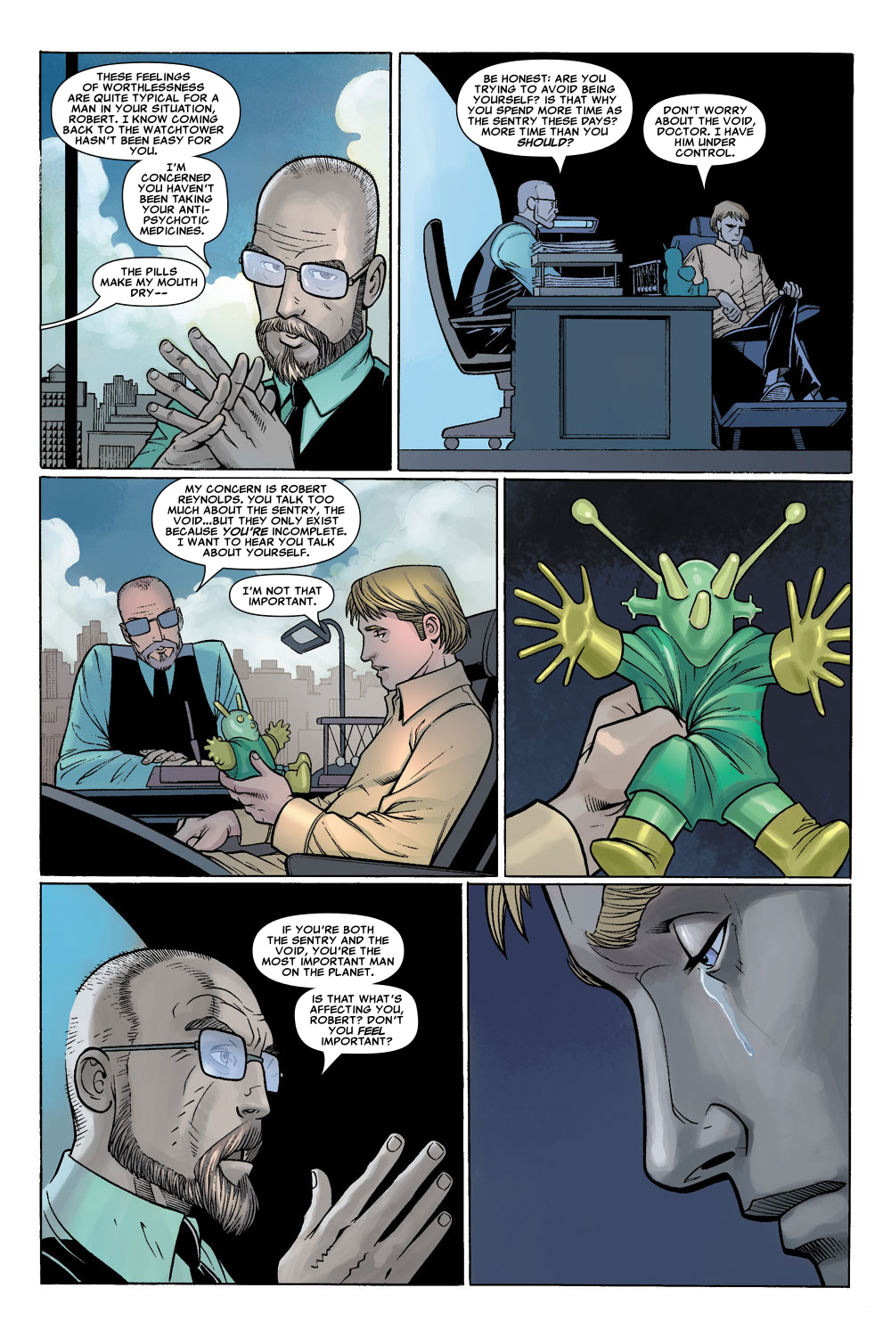 Read online Sentry (2006) comic -  Issue #1 - 20