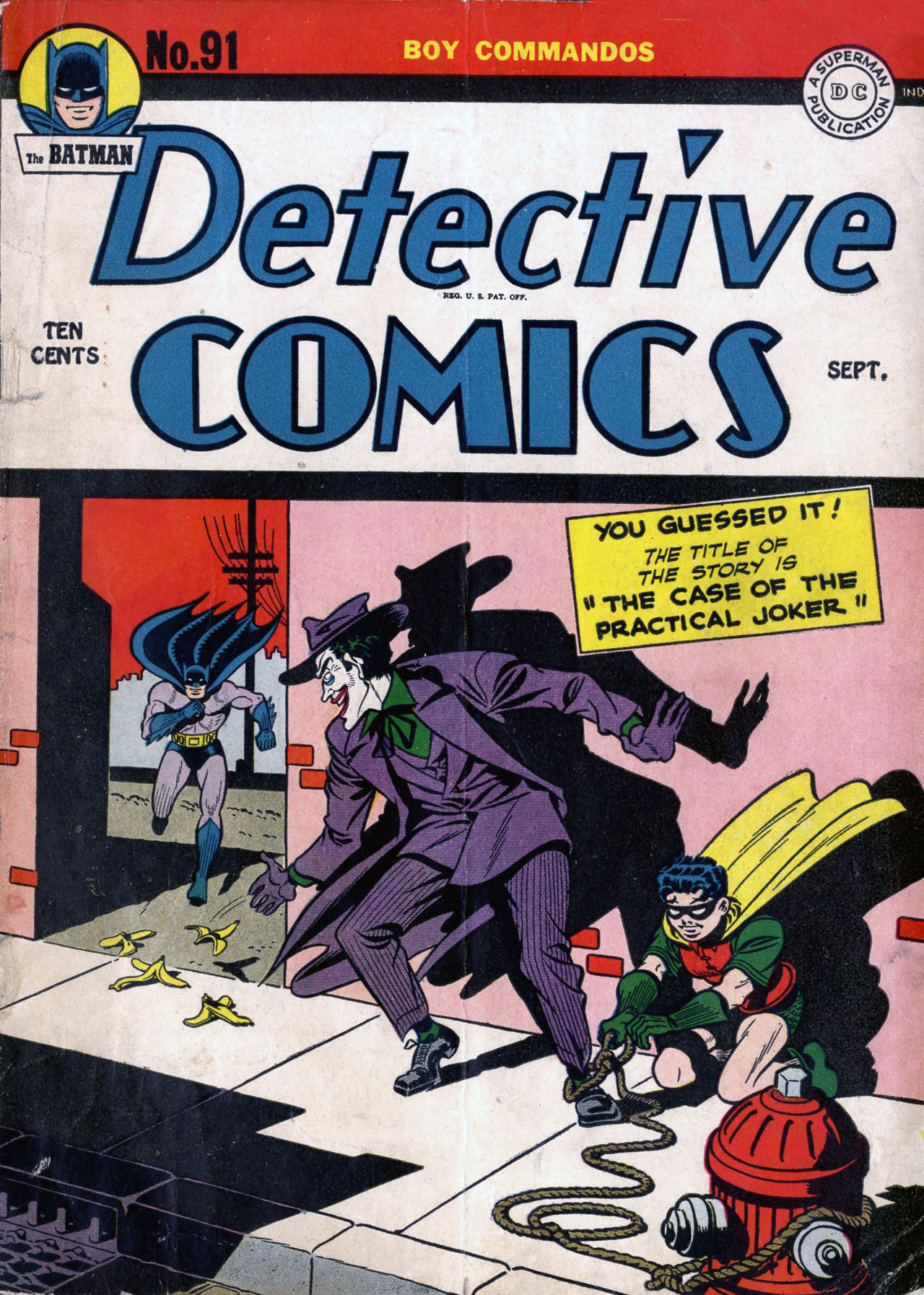 Read online Detective Comics (1937) comic -  Issue #91 - 1