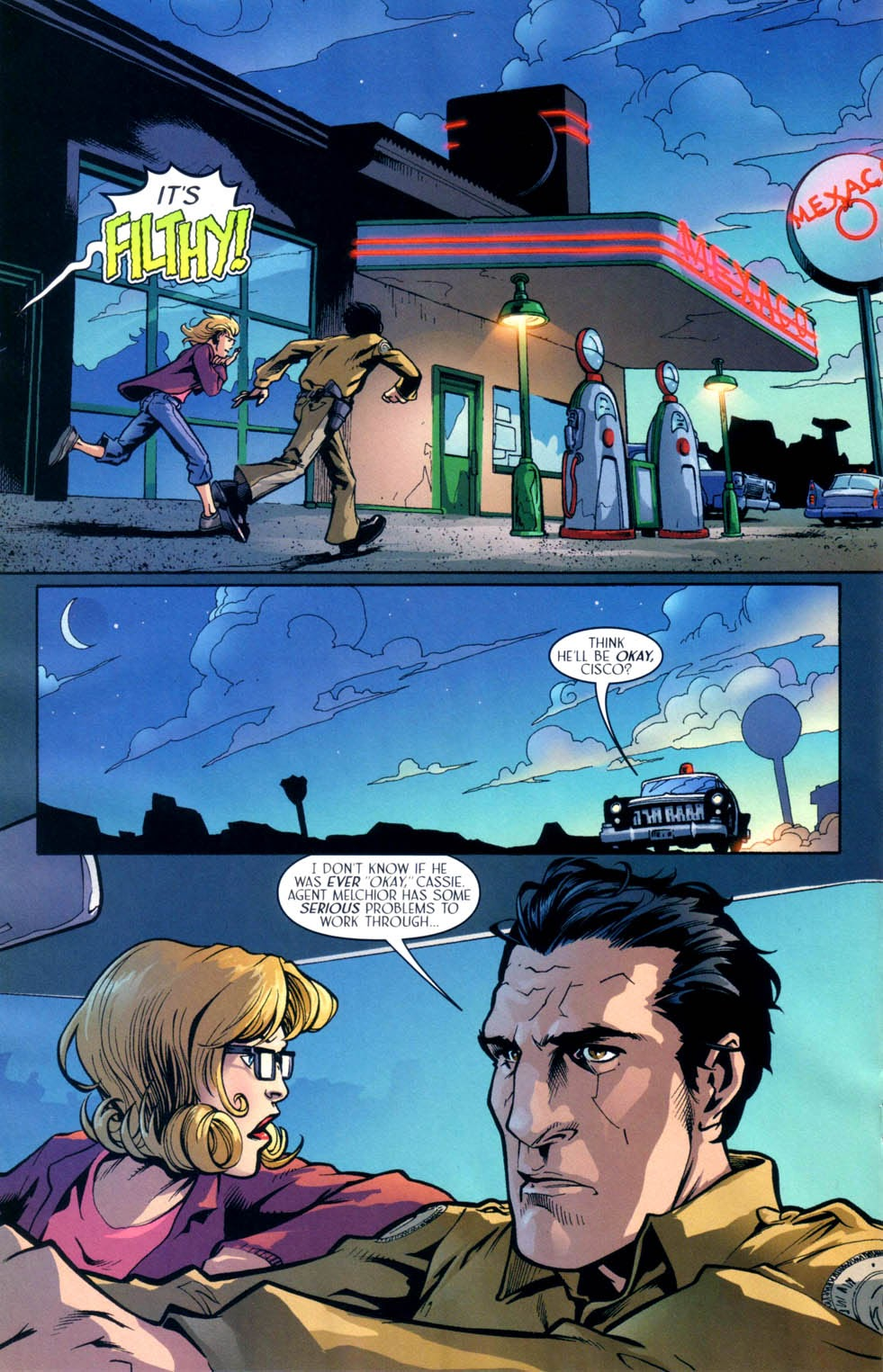 Read online Route 666 comic -  Issue #9 - 19