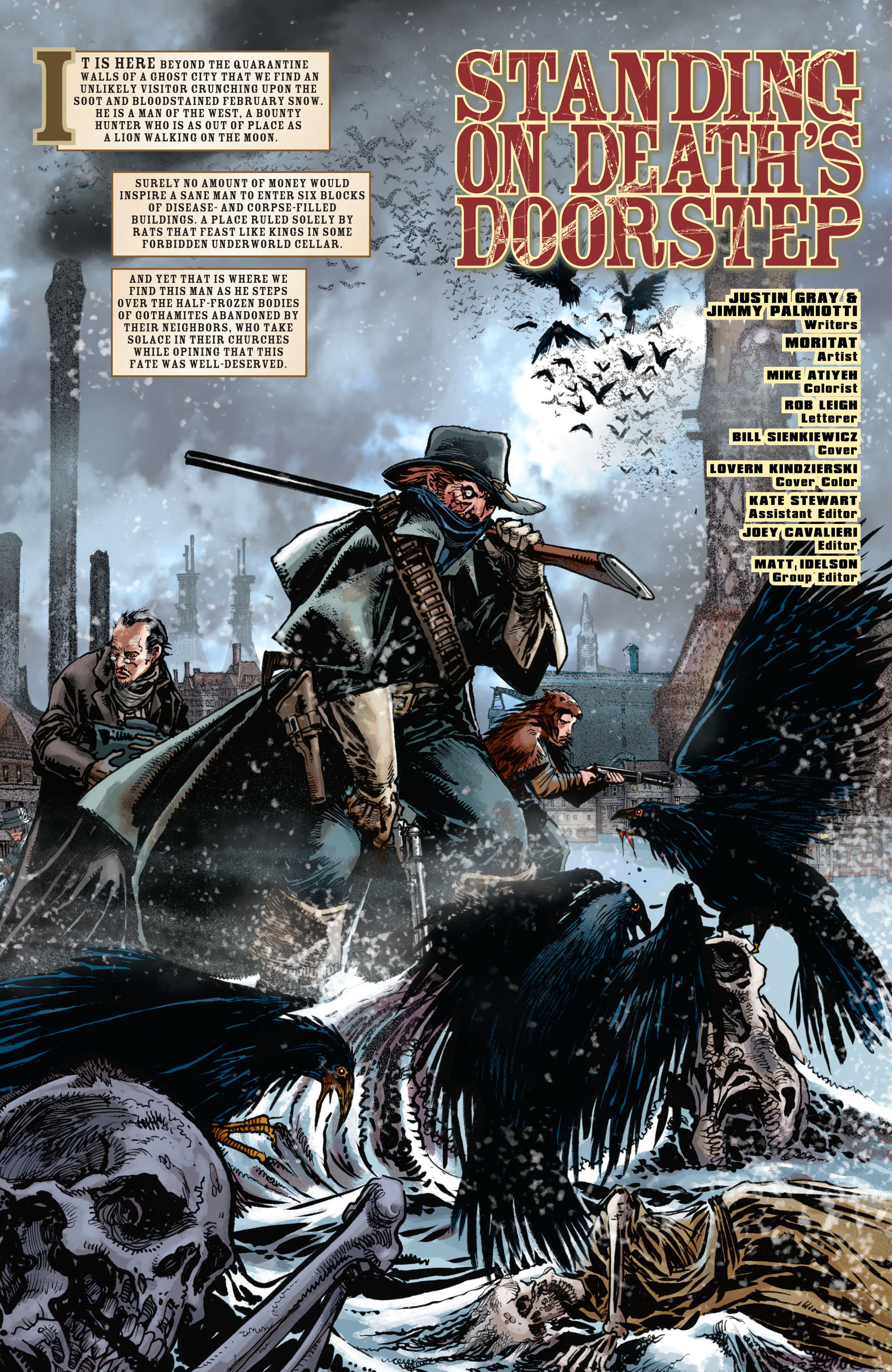 Read online All-Star Western (2011) comic -  Issue #17 - 4