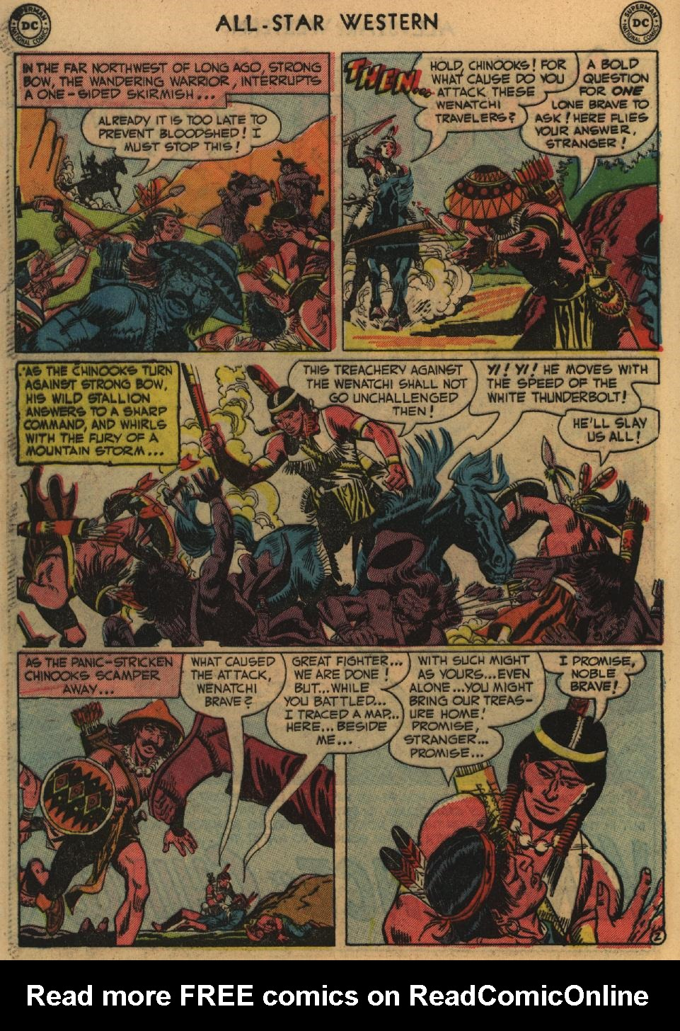 Read online All-Star Western (1951) comic -  Issue #60 - 40