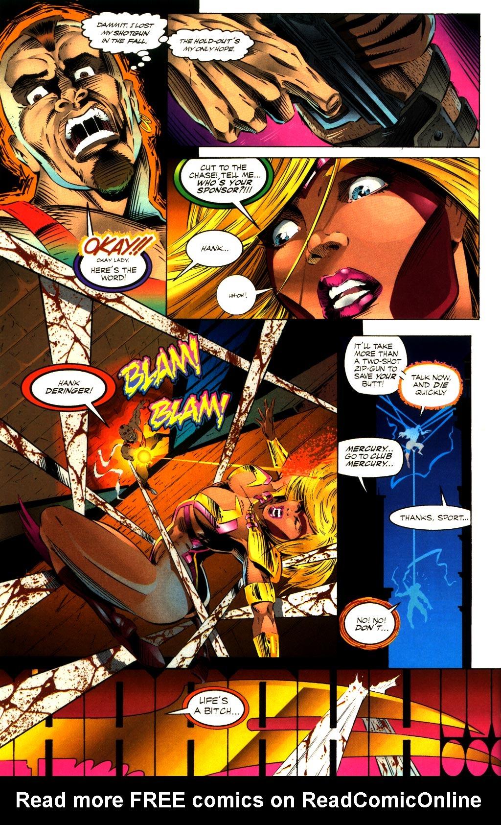 Read online ShadowHawk comic -  Issue #8 - 26