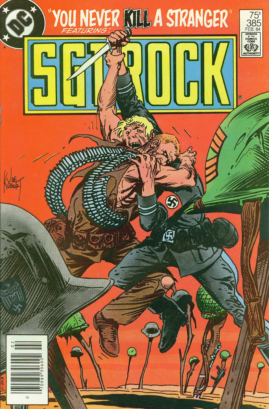 Sgt. Rock issue 385 - Page 1
