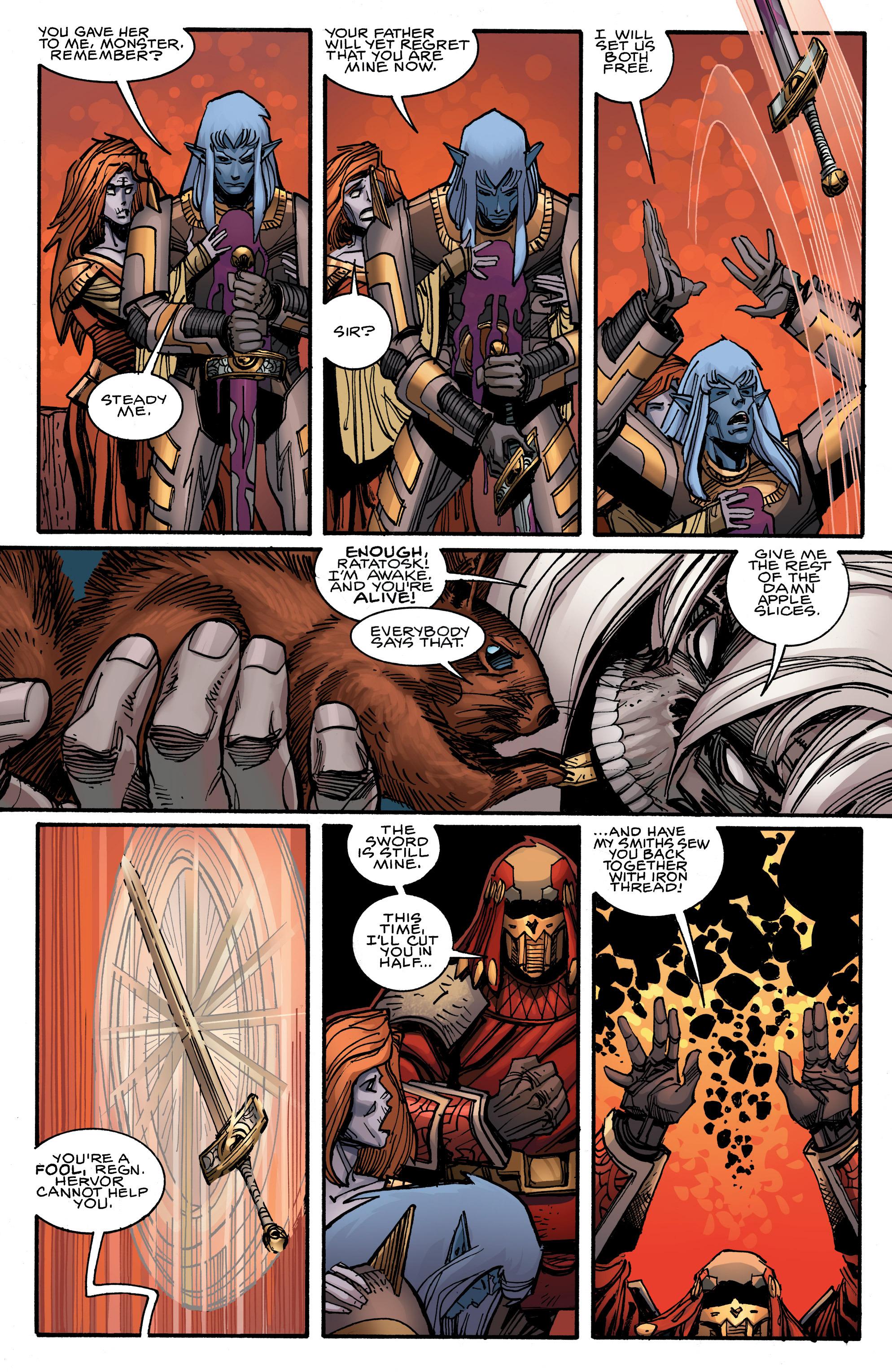 Read online Ragnarok comic -  Issue #12 - 6