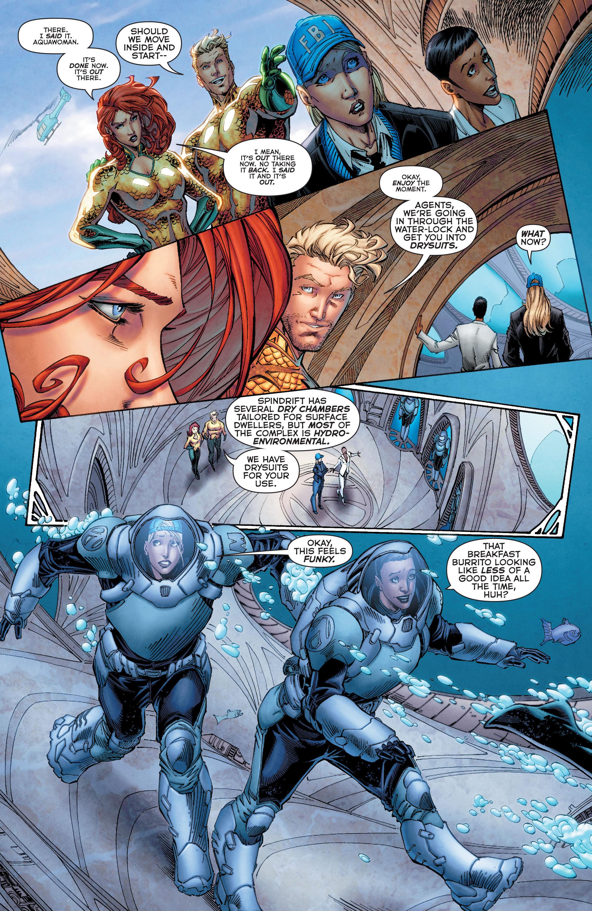 Read online Aquaman (2011) comic -  Issue #50 - 13
