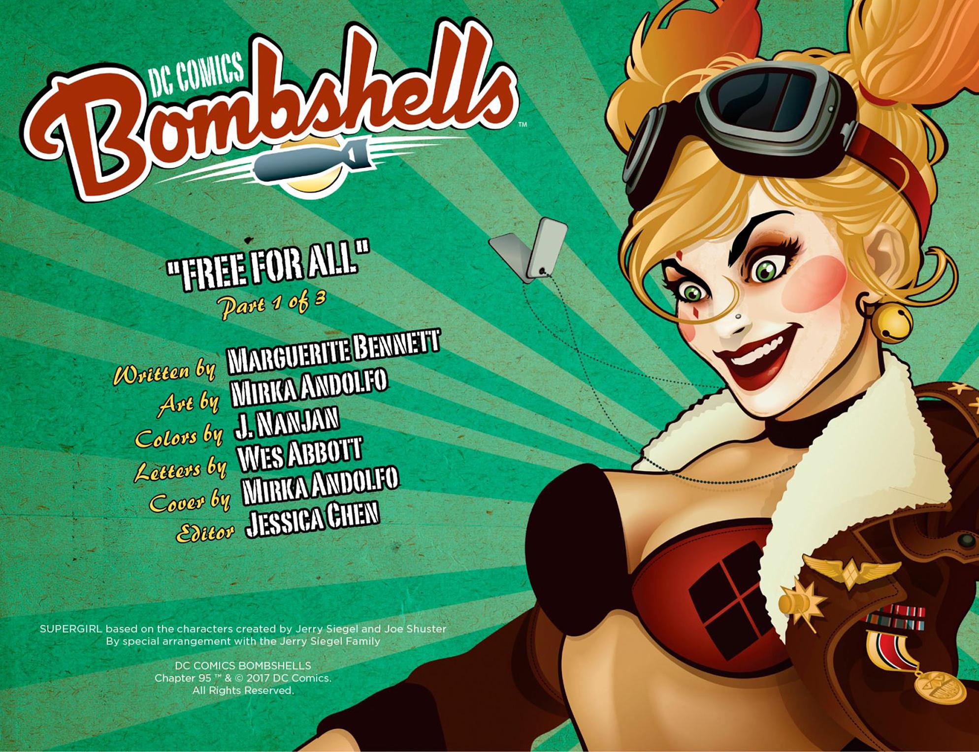 Read online DC Comics: Bombshells comic -  Issue #95 - 3