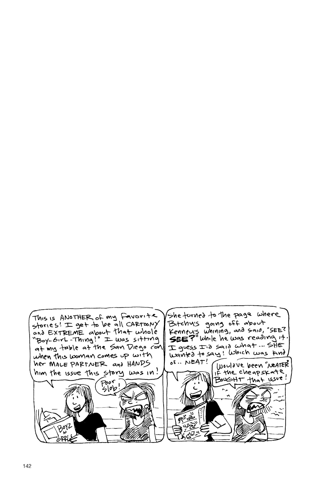 Read online Life's a Bitch: The Complete Bitchy Bitch Stories comic -  Issue # TPB (Part 2) - 39