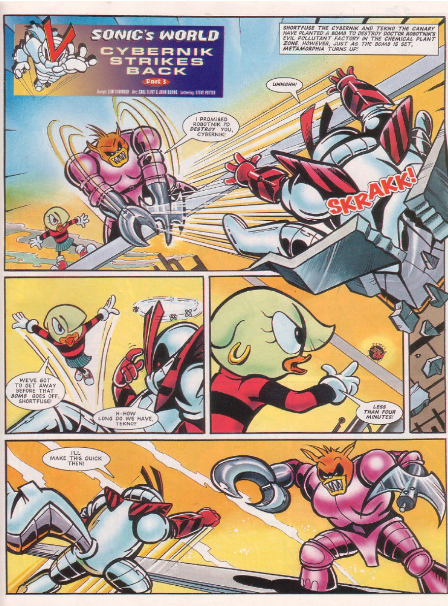 Read online Sonic the Comic comic -  Issue #65 - 24