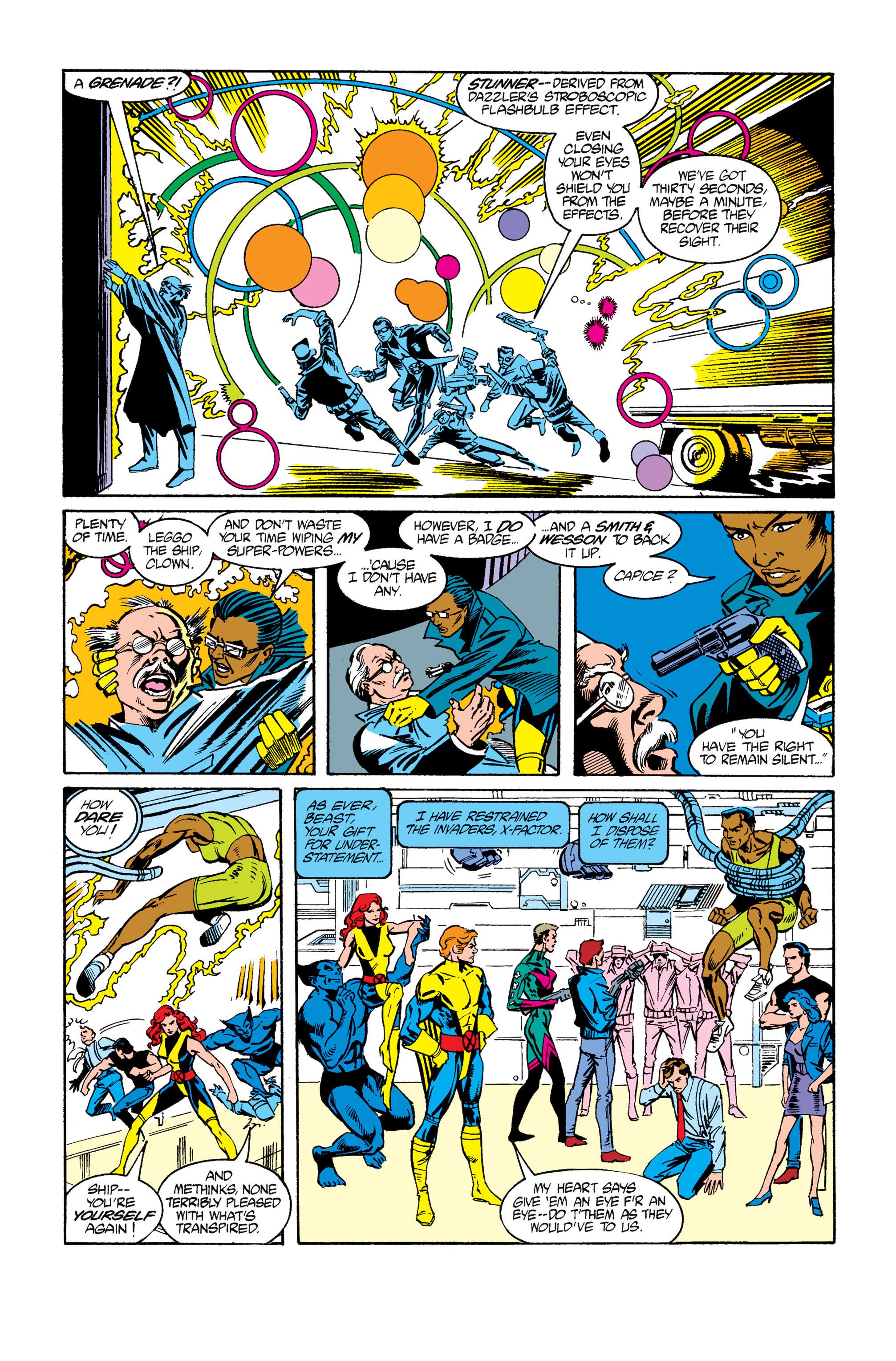 Read online Uncanny X-Men (1963) comic -  Issue #264 - 22