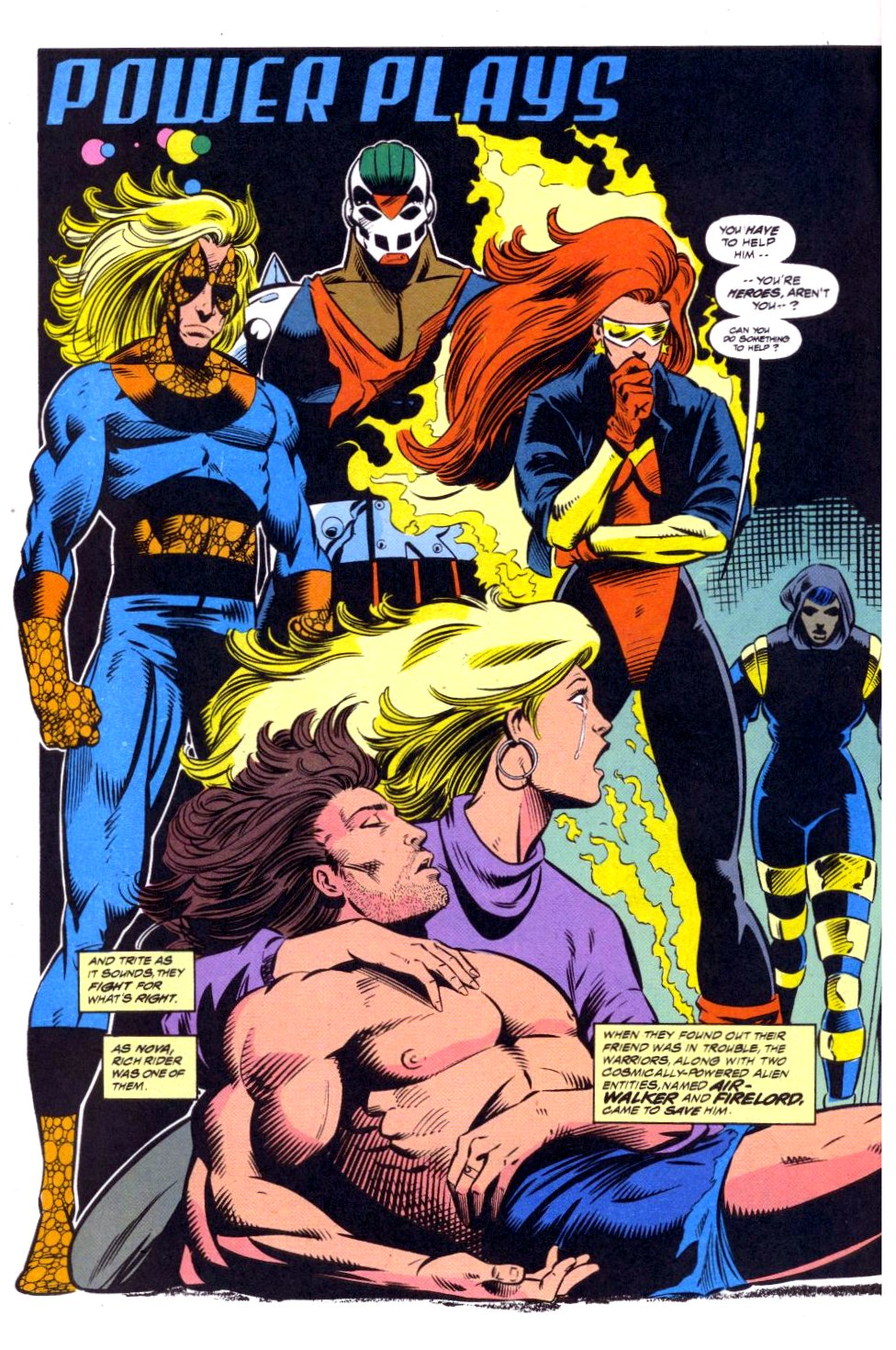 The New Warriors Issue #41 #45 - English 3