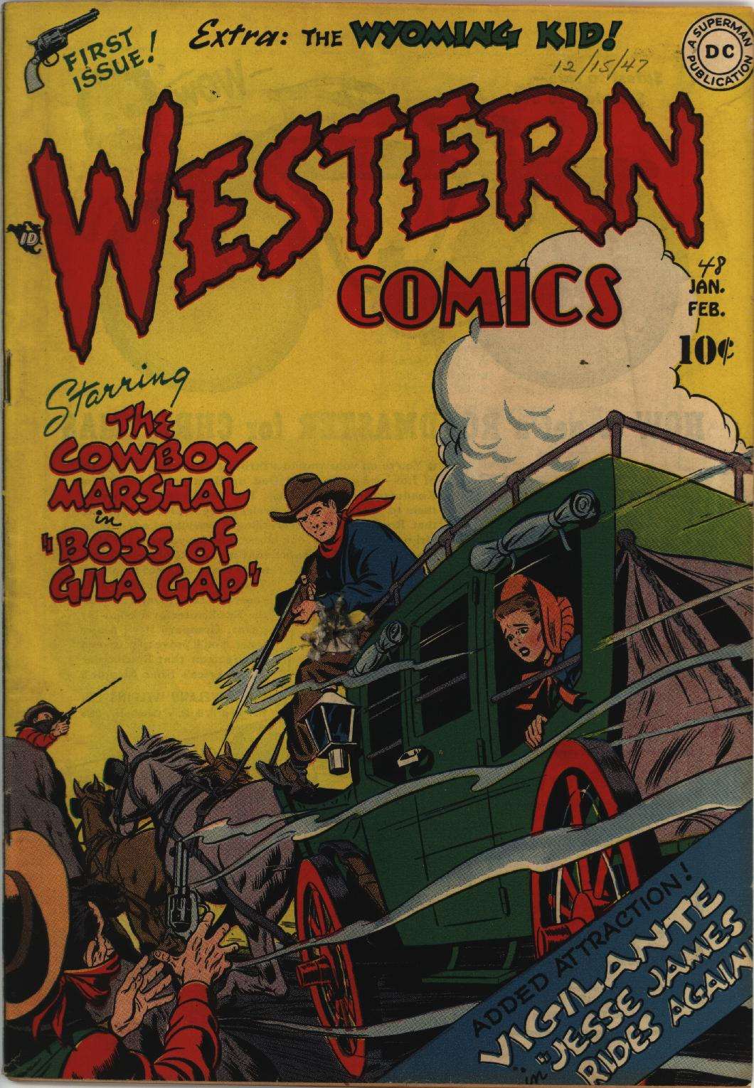 Western Comics issue 1 - Page 1
