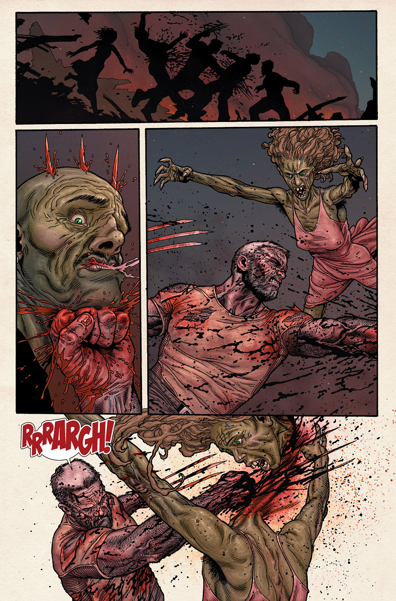 Read online Wolverine: Old Man Logan comic -  Issue # Full - 180