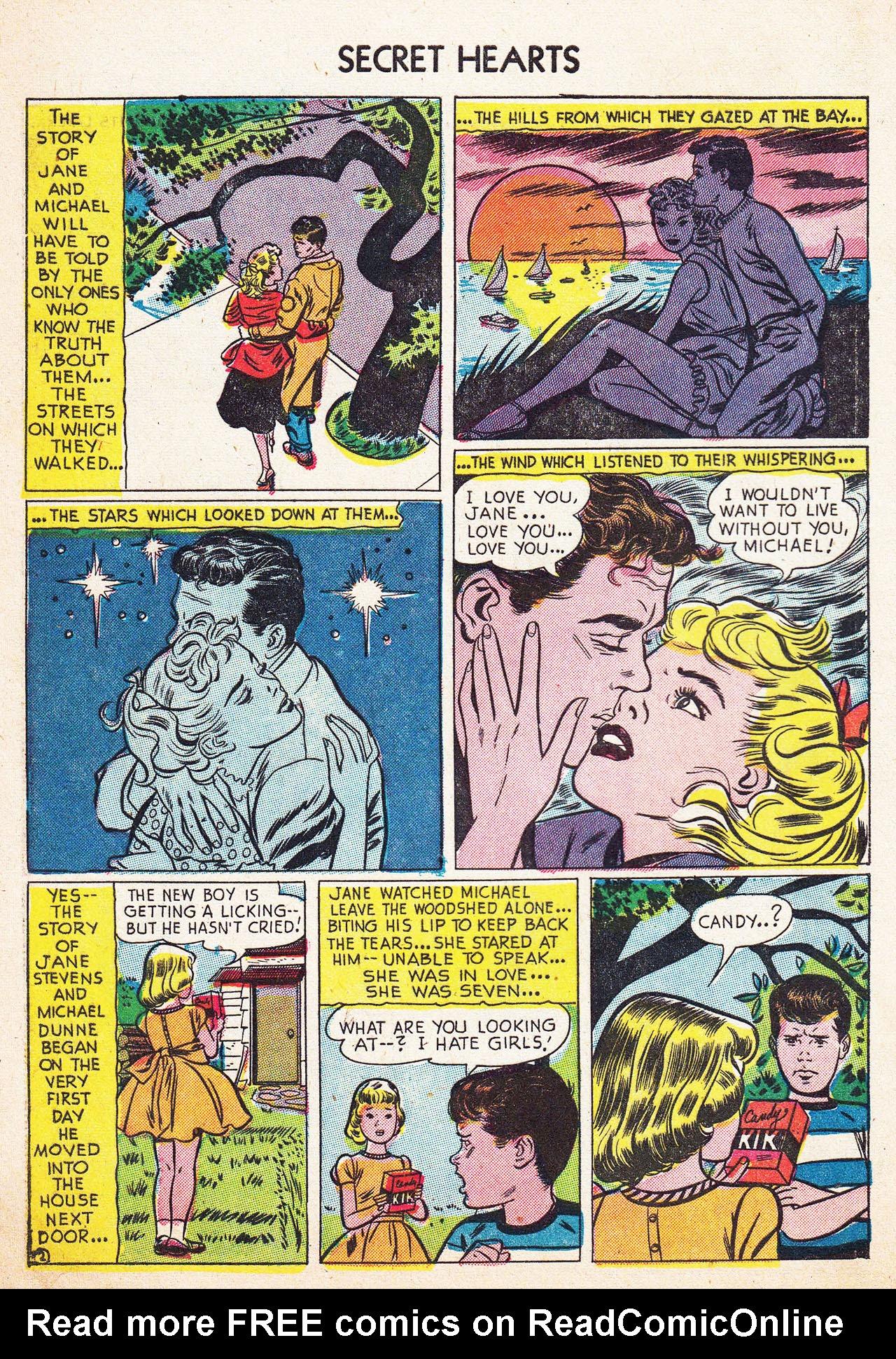 Read online Secret Hearts comic -  Issue #13 - 4