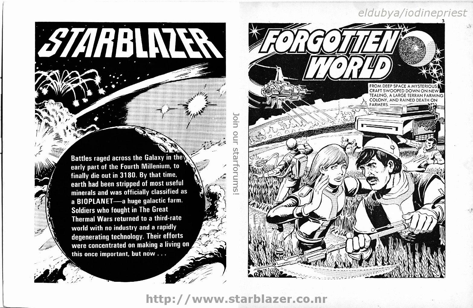 Starblazer issue 101 - Page 3