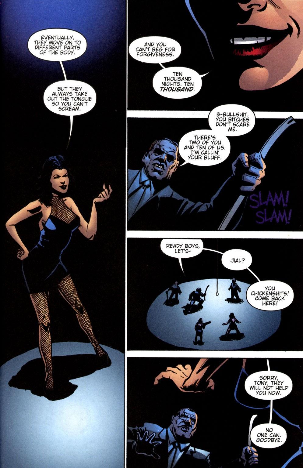 Read online Vampire the Masquerade comic -  Issue # Giovanni - 44