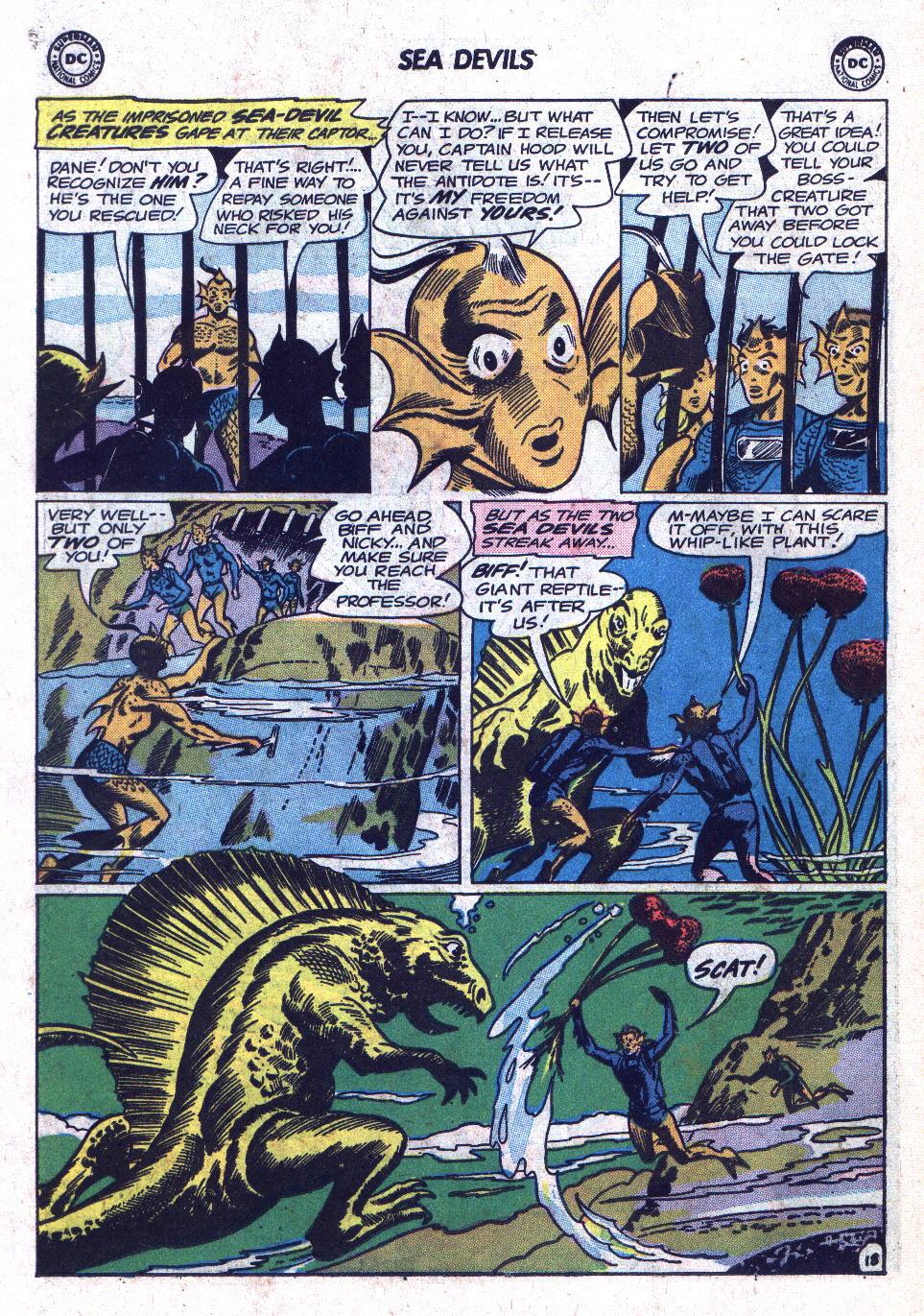 Read online Sea Devils comic -  Issue #18 - 26