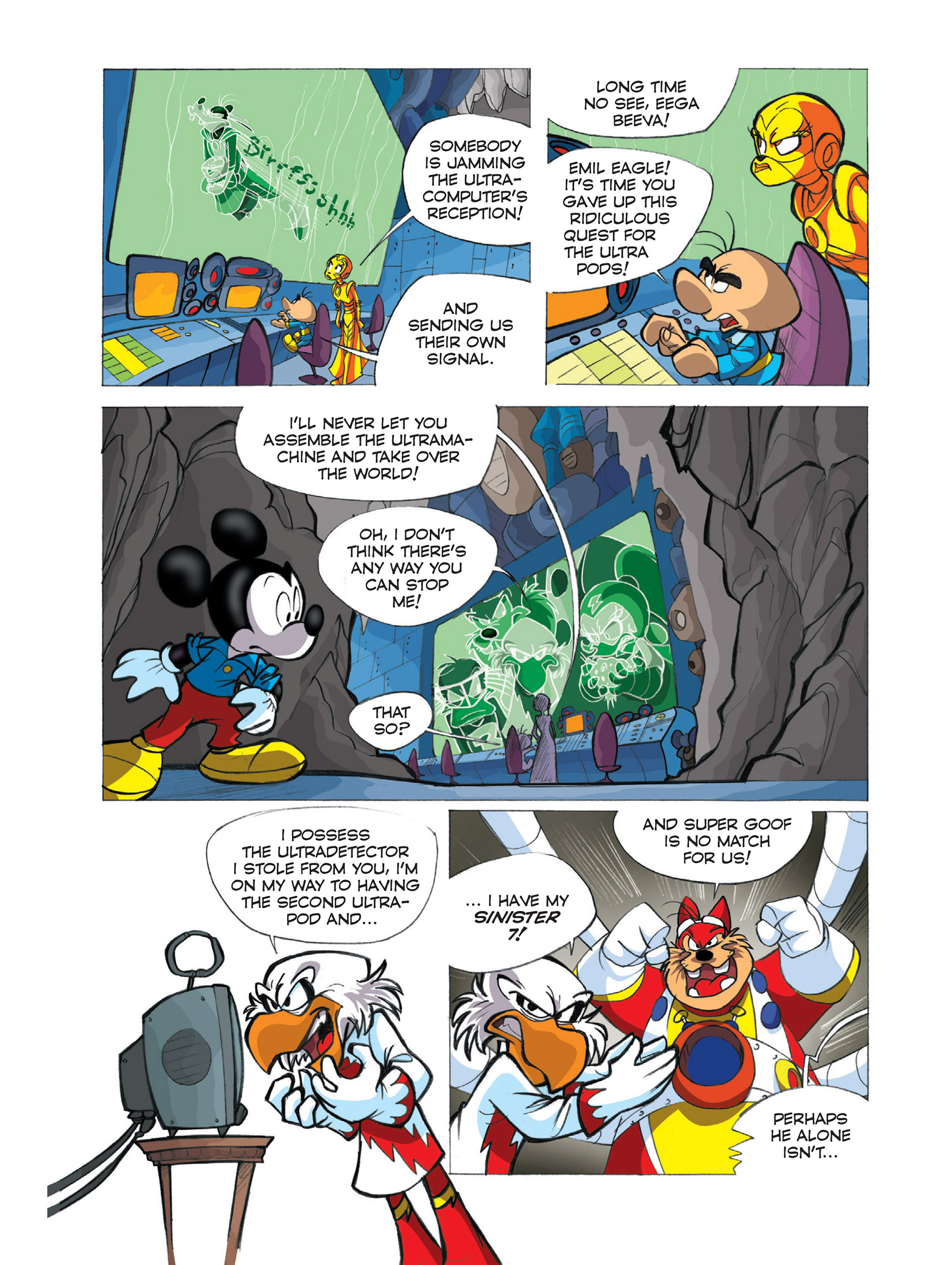 Read online Ultraheroes comic -  Issue #2 - 8