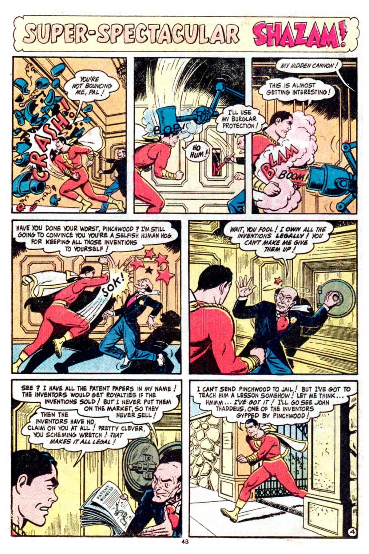 Read online Shazam! (1973) comic -  Issue #16 - 48