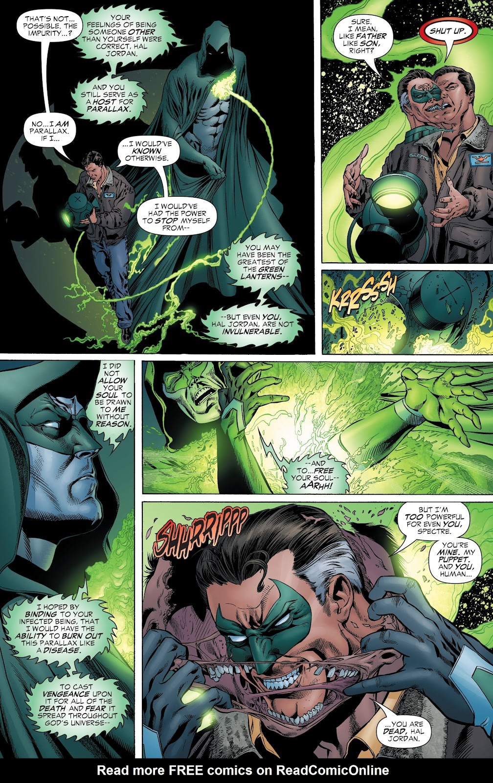 Read online Green Lantern by Geoff Johns comic -  Issue # TPB 1 (Part 1) - 85