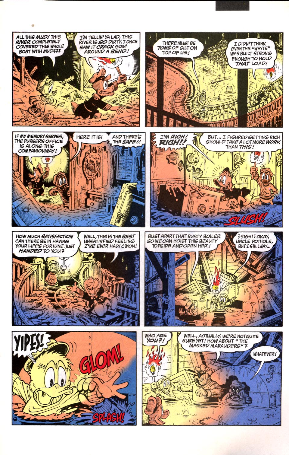 Read online Uncle Scrooge (1953) comic -  Issue #286 - 16