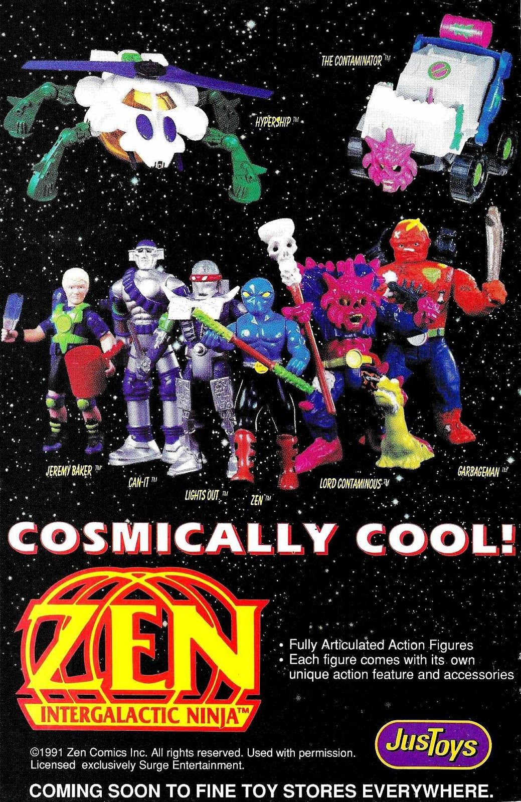 Read online Zen Intergalactic Ninja (1992) comic -  Issue #3 - 35