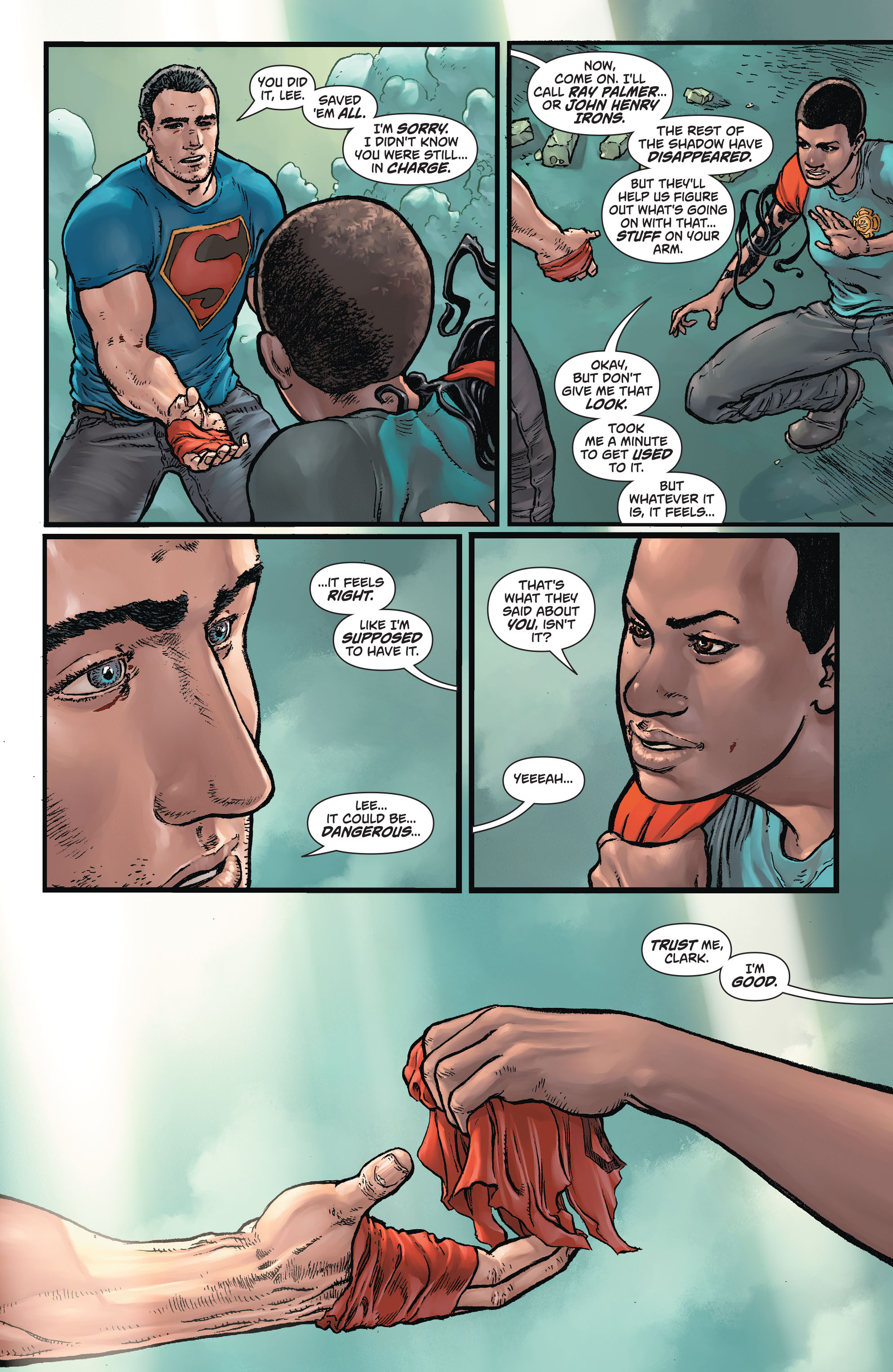 Read online Action Comics (2011) comic -  Issue #44 - 18