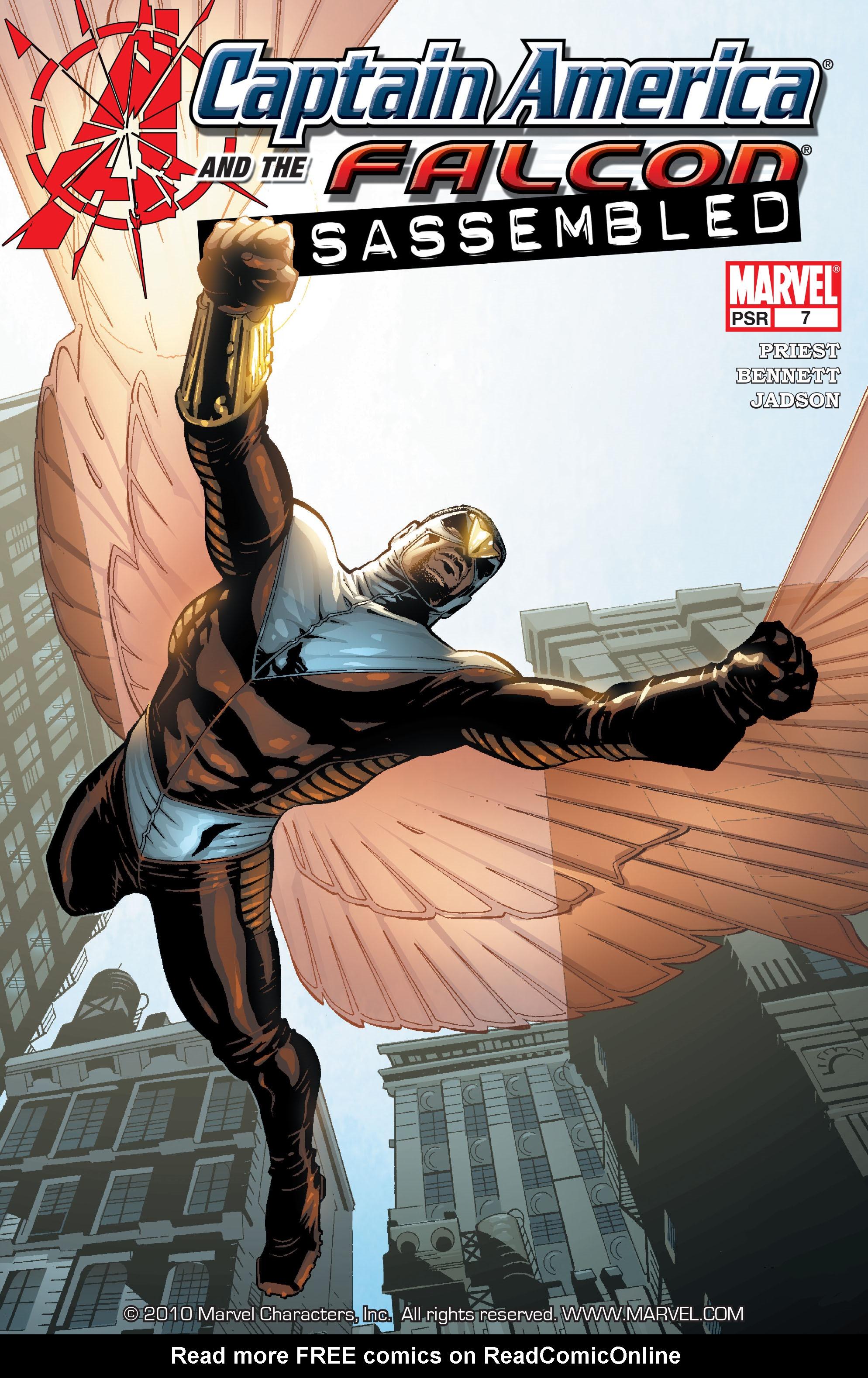 Captain America & the Falcon 7 Page 1