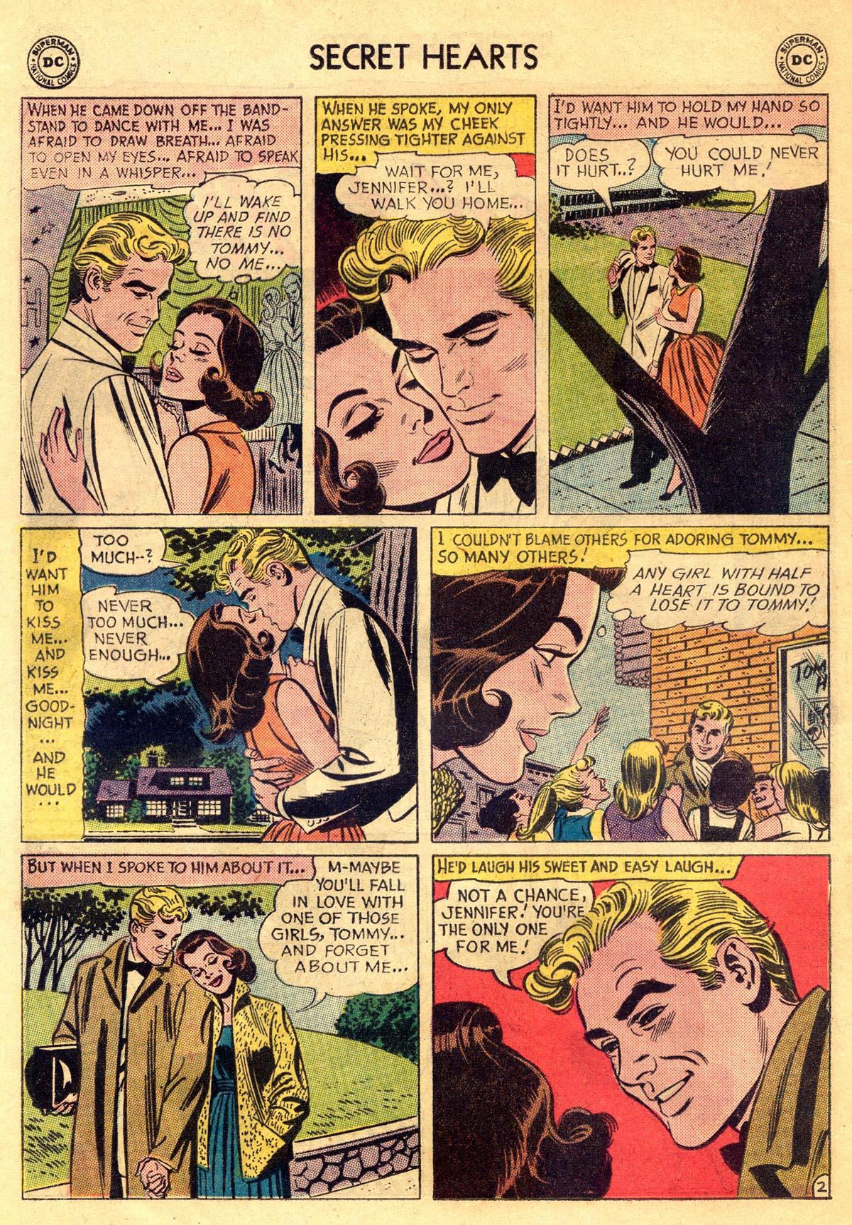 Read online Secret Hearts comic -  Issue #81 - 20