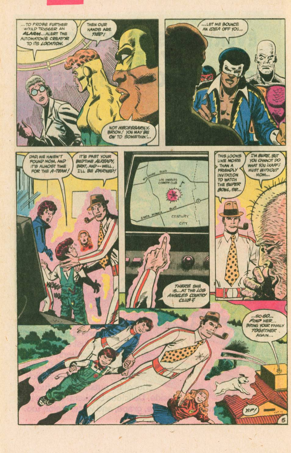 Read online Adventures of the Outsiders comic -  Issue #40 - 6
