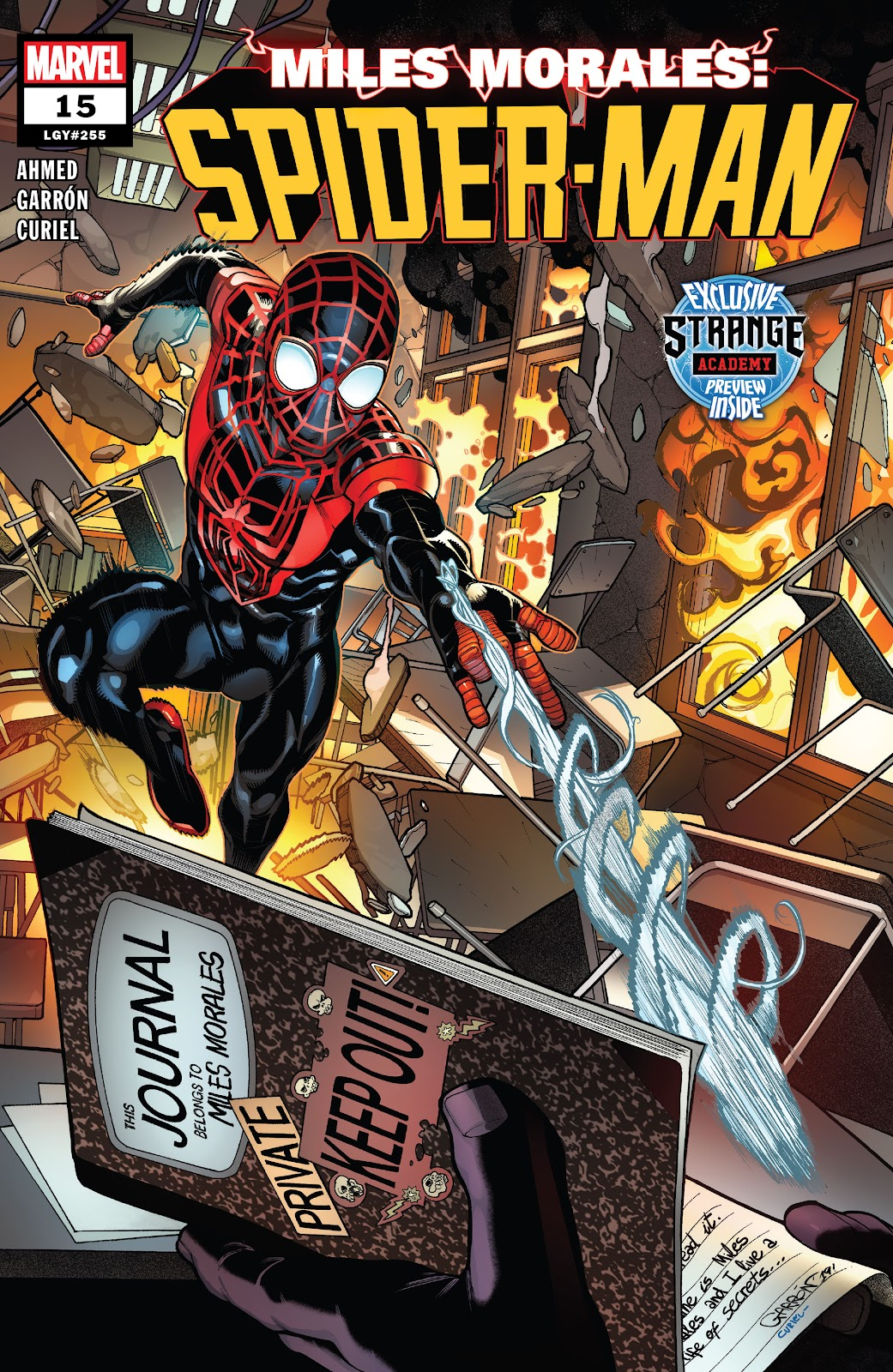 Miles Morales: Spider-Man 15 Page 1