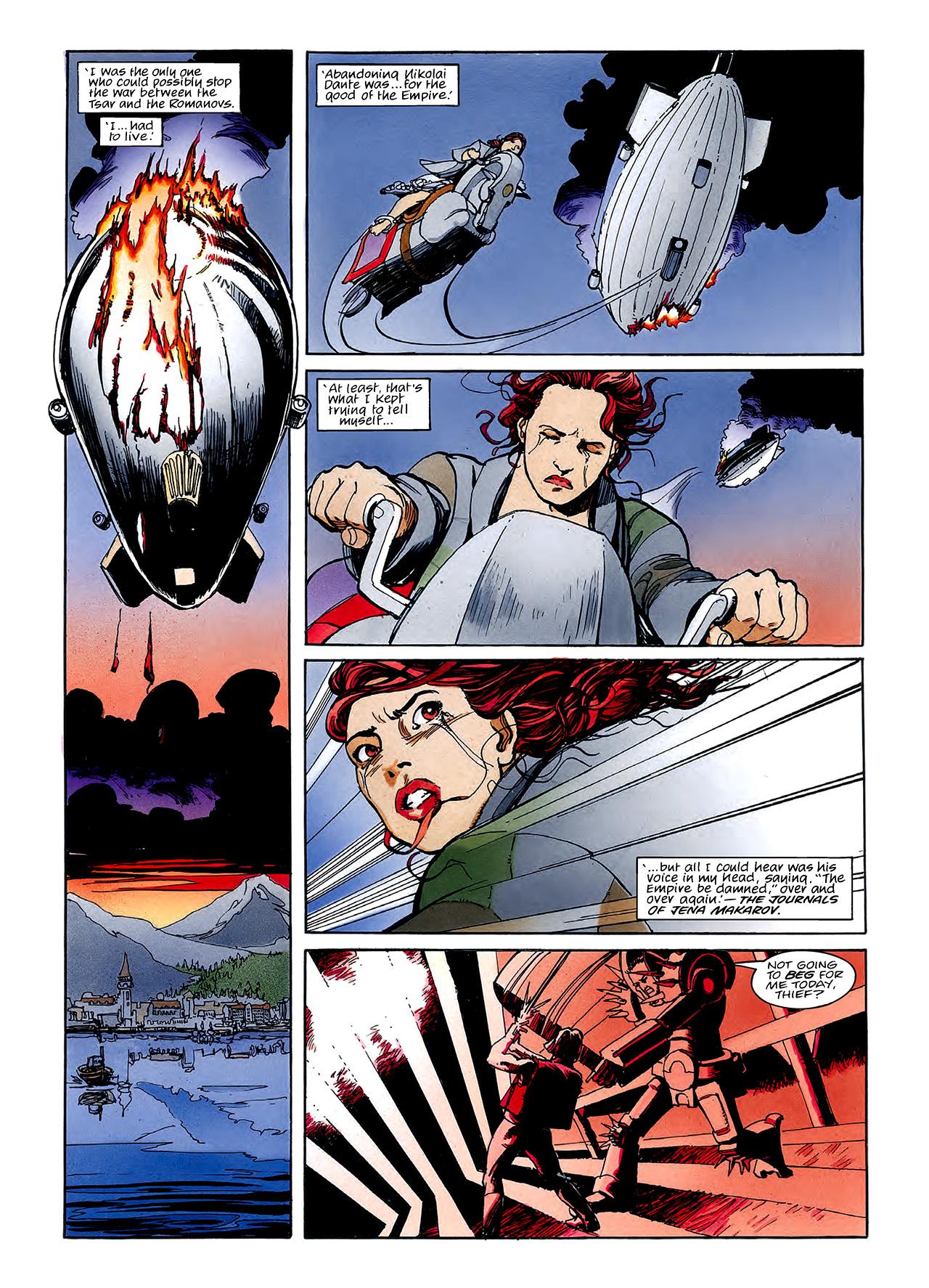 Read online Nikolai Dante comic -  Issue # TPB 3 - 120