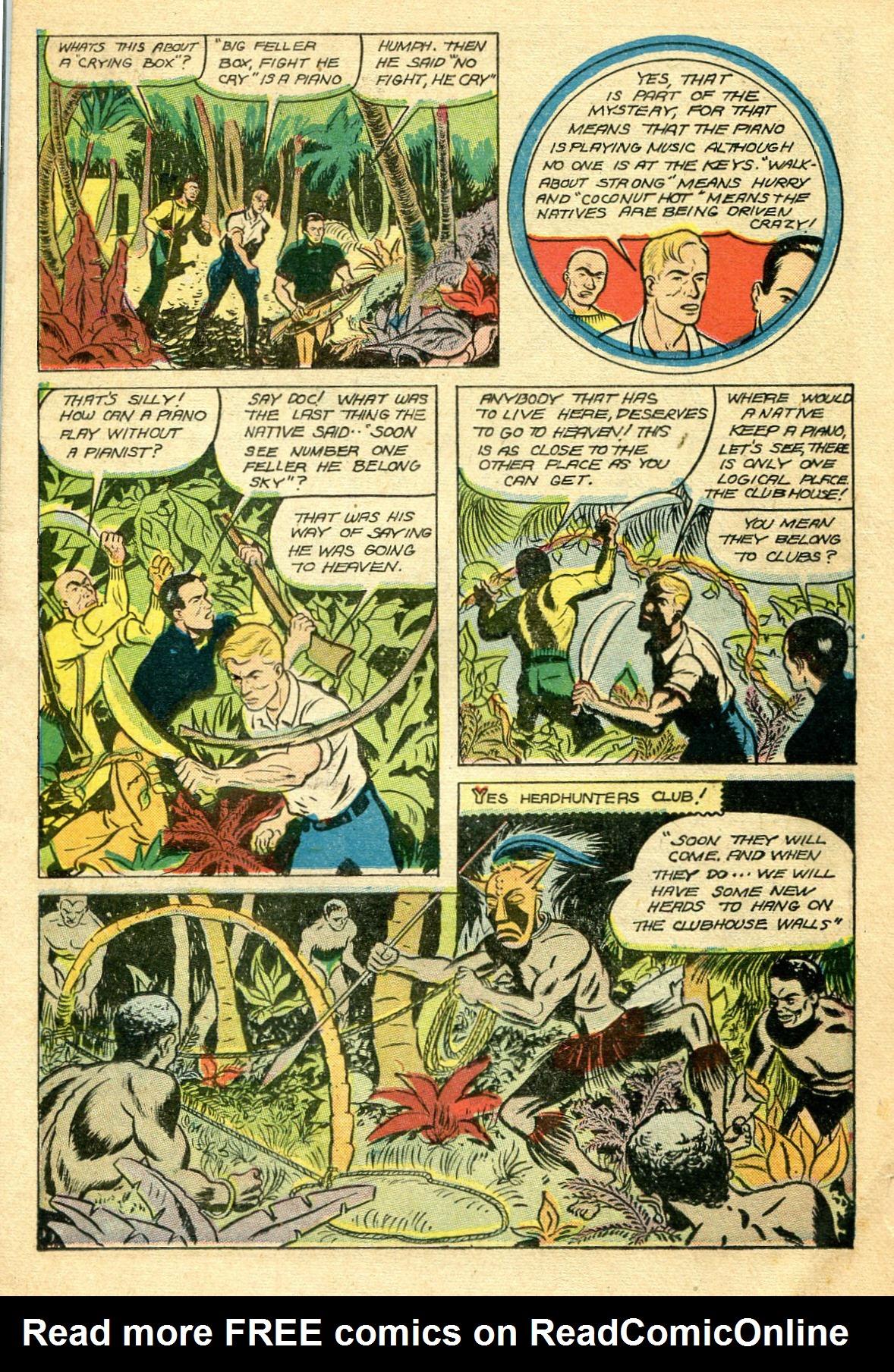 Read online Shadow Comics comic -  Issue #44 - 28