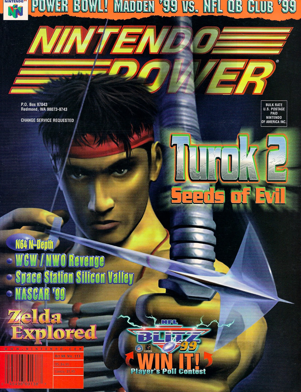 Nintendo Power 113 Page 1