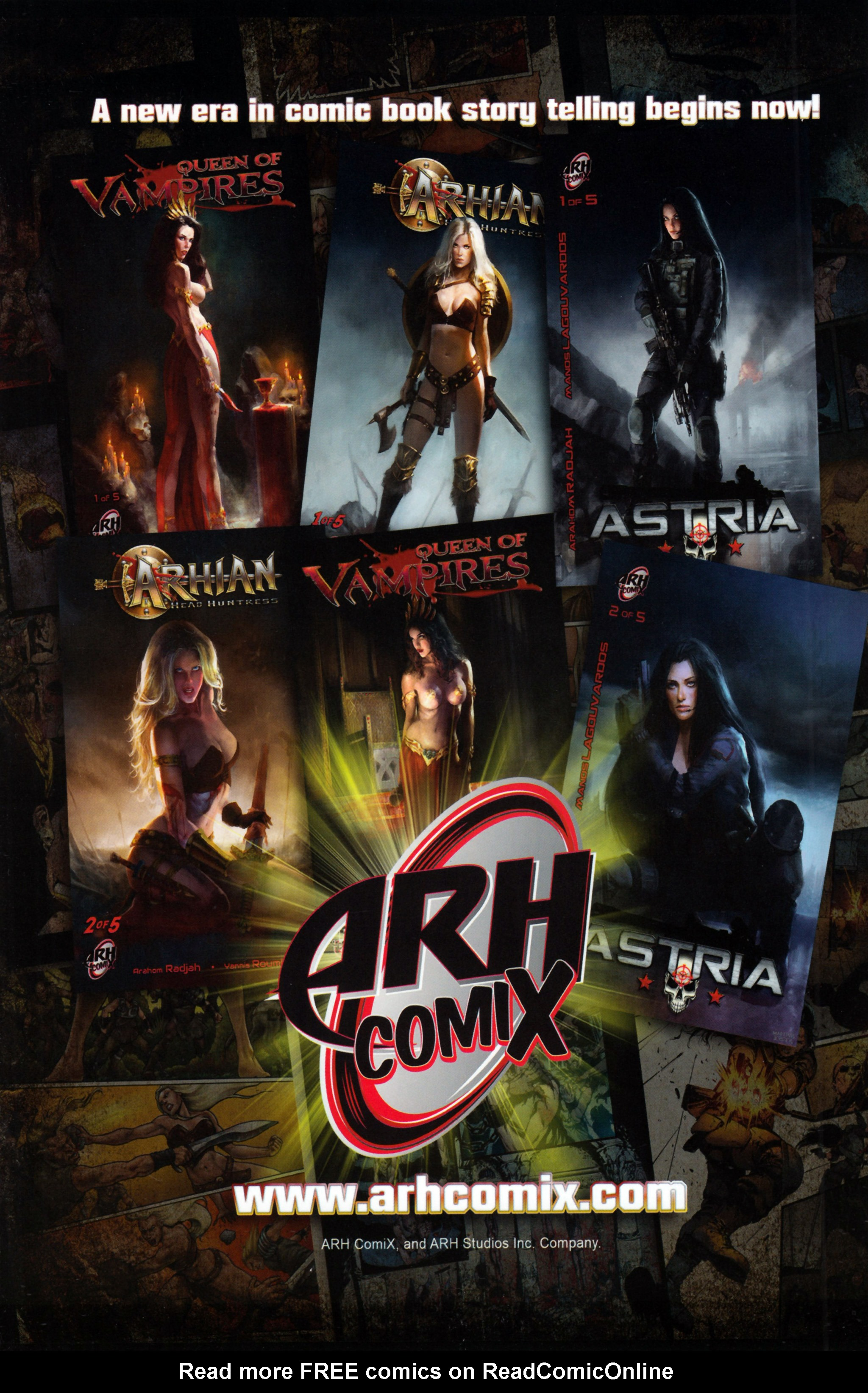 Read online Arhian: Head Huntress comic -  Issue #1 - 35