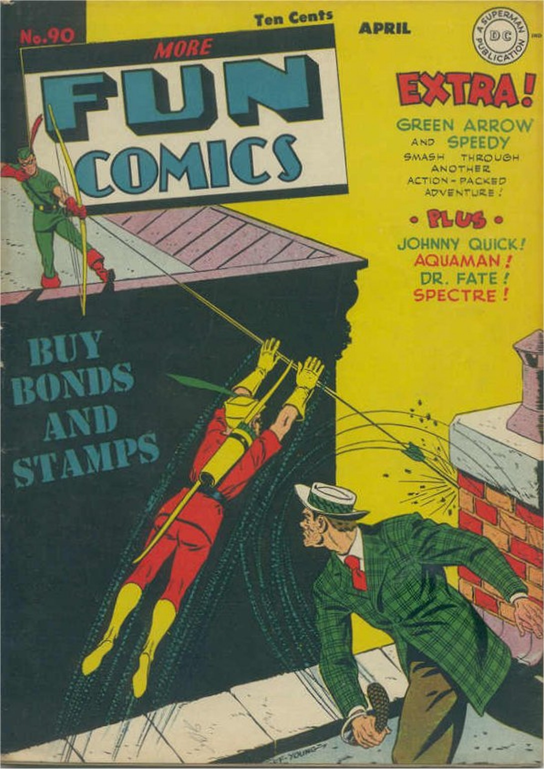 More Fun Comics 90 Page 1