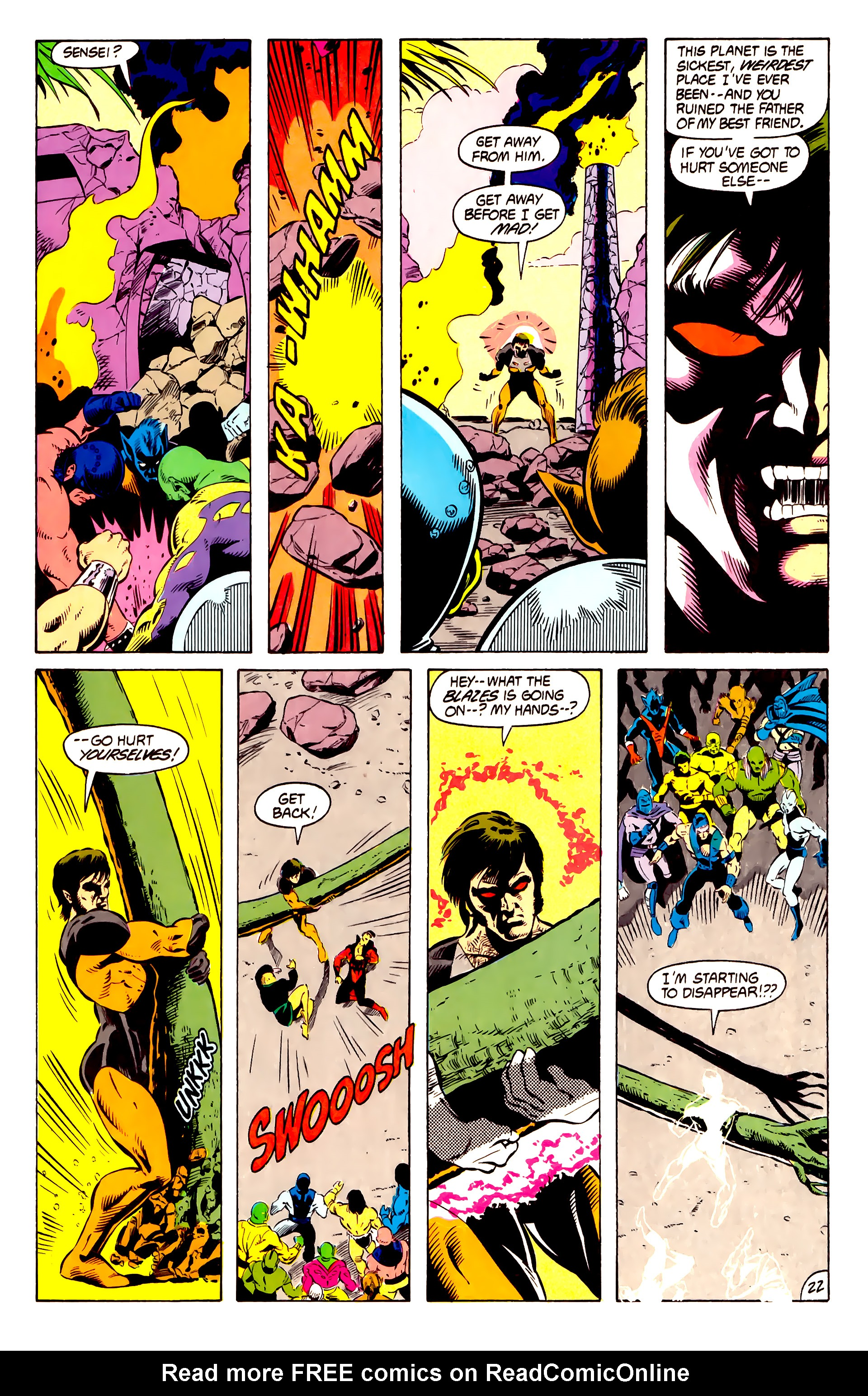 Legion of Super-Heroes (1984) 13 Page 23