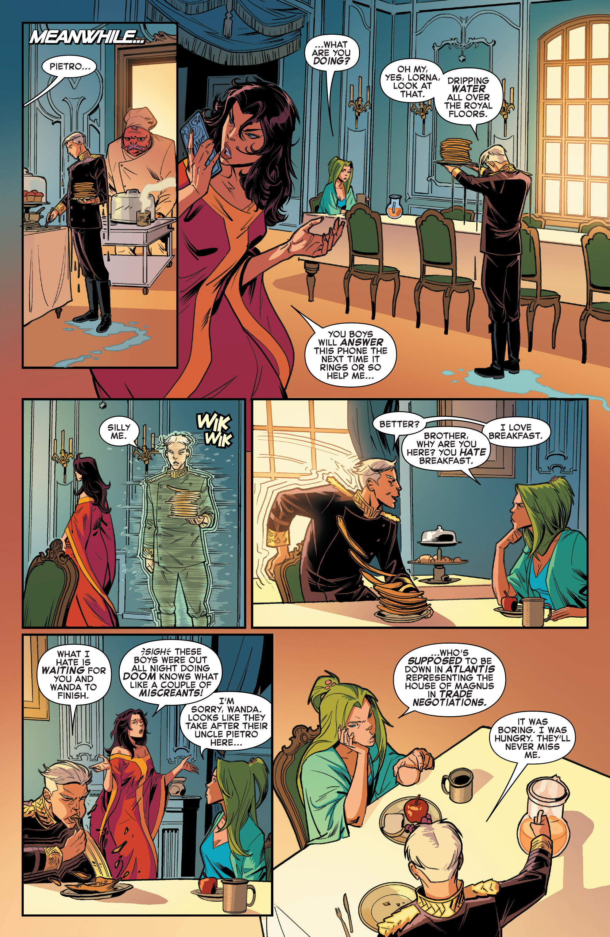 Read online House of M (2015) comic -  Issue #1 - 11