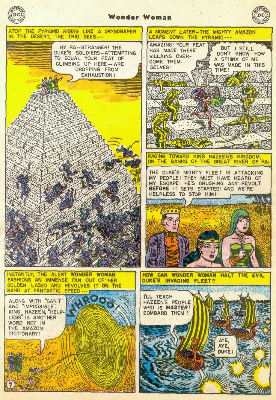 Read online Wonder Woman (1942) comic -  Issue #76 - 19