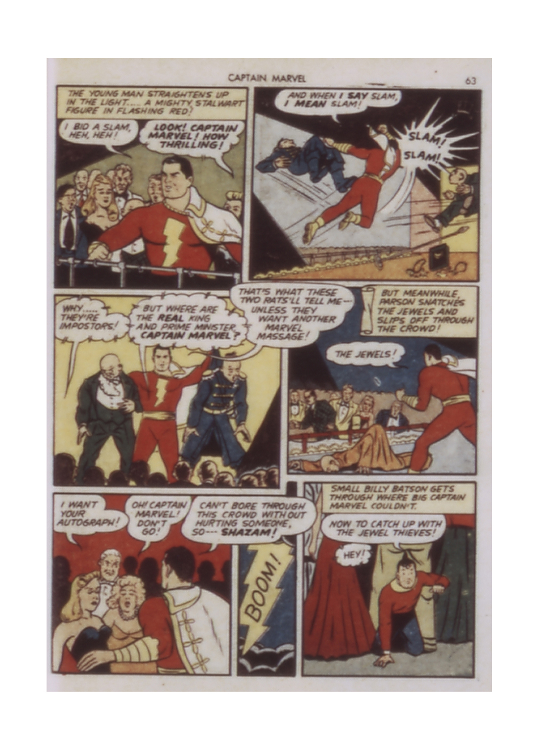 Captain Marvel Adventures issue 9 - Page 63