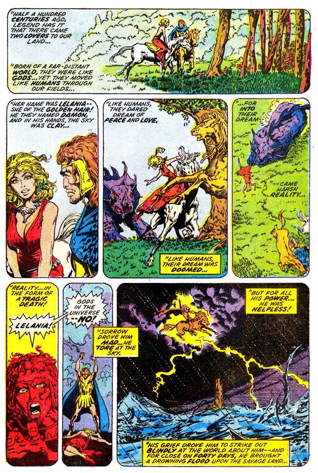 Read online Astonishing Tales (1970) comic -  Issue #6 - 15