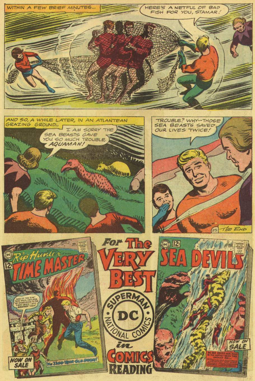 Read online Aquaman (1962) comic -  Issue #7 - 31