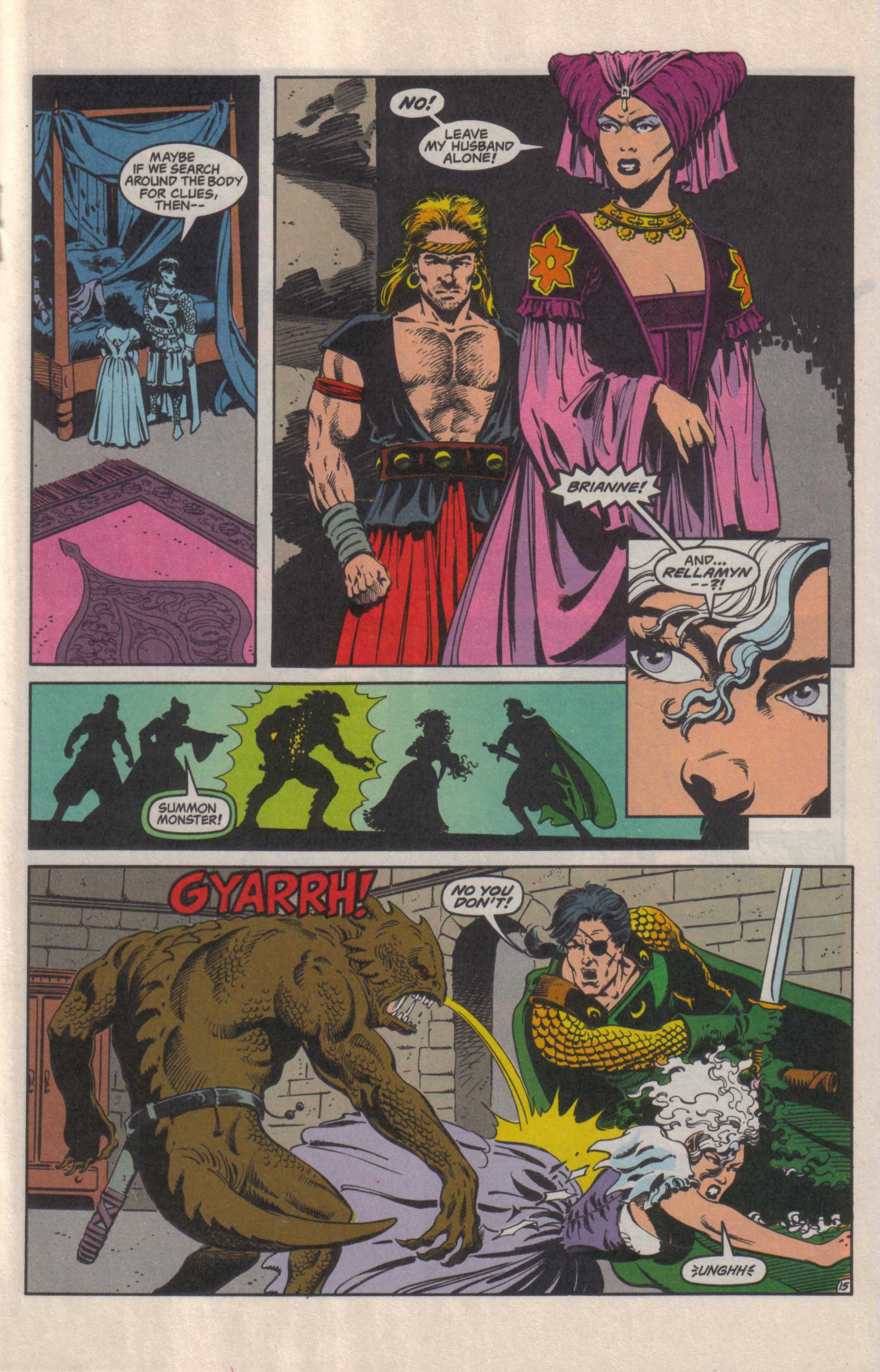 Read online Advanced Dungeons & Dragons comic -  Issue #27 - 16