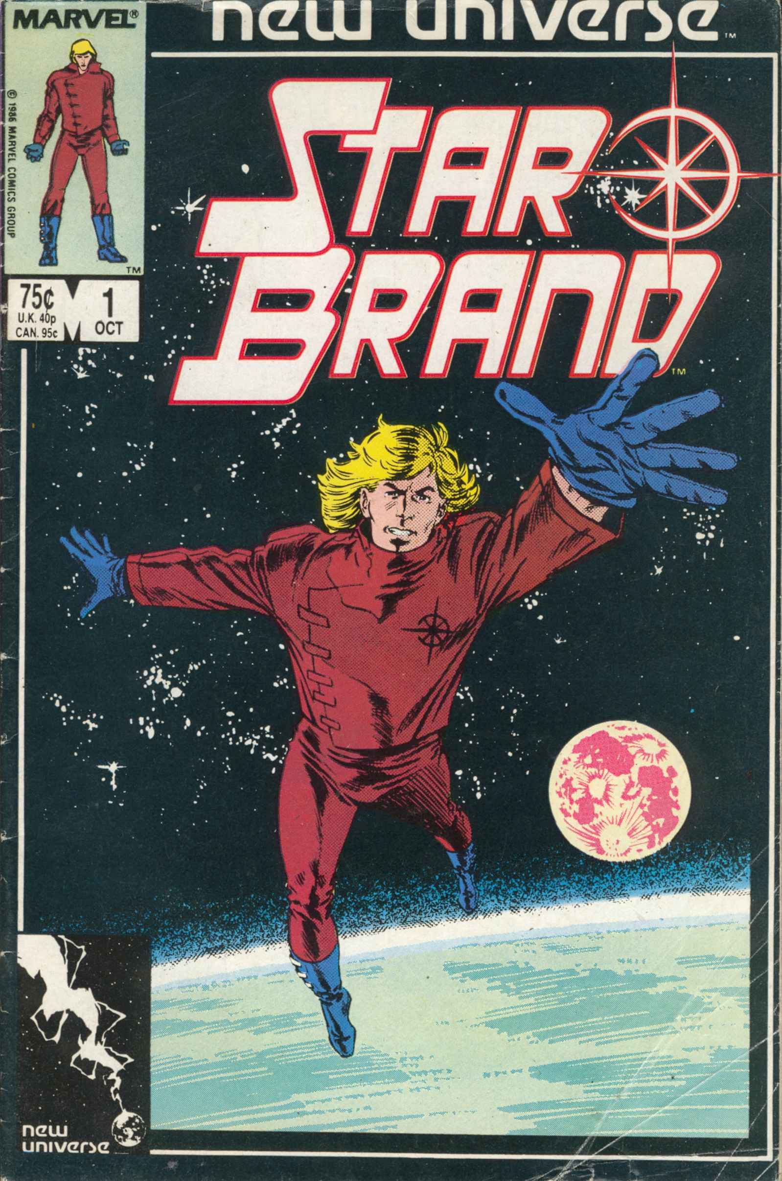 Read online Star Brand comic -  Issue #1 - 1