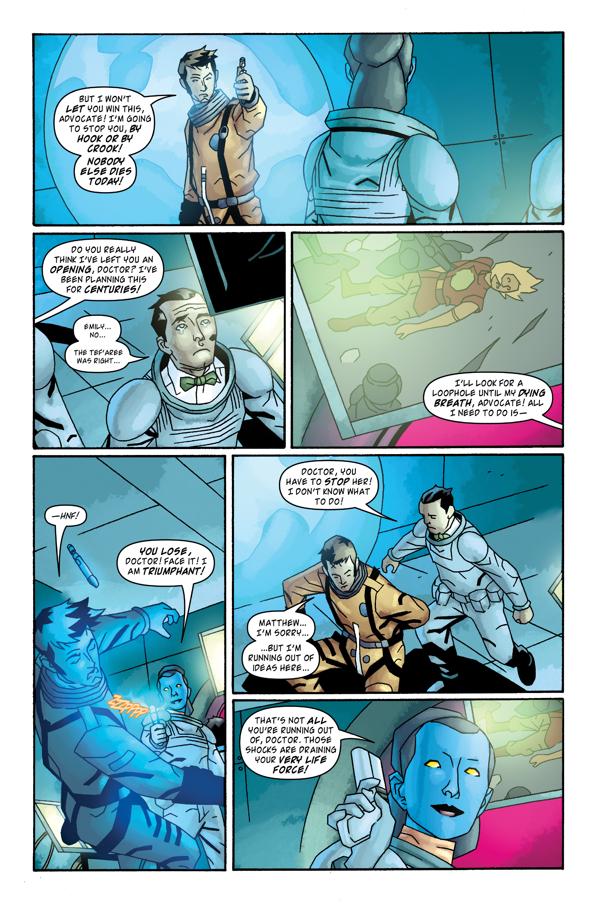 Read online Doctor Who: The Tenth Doctor Archives comic -  Issue #33 - 23