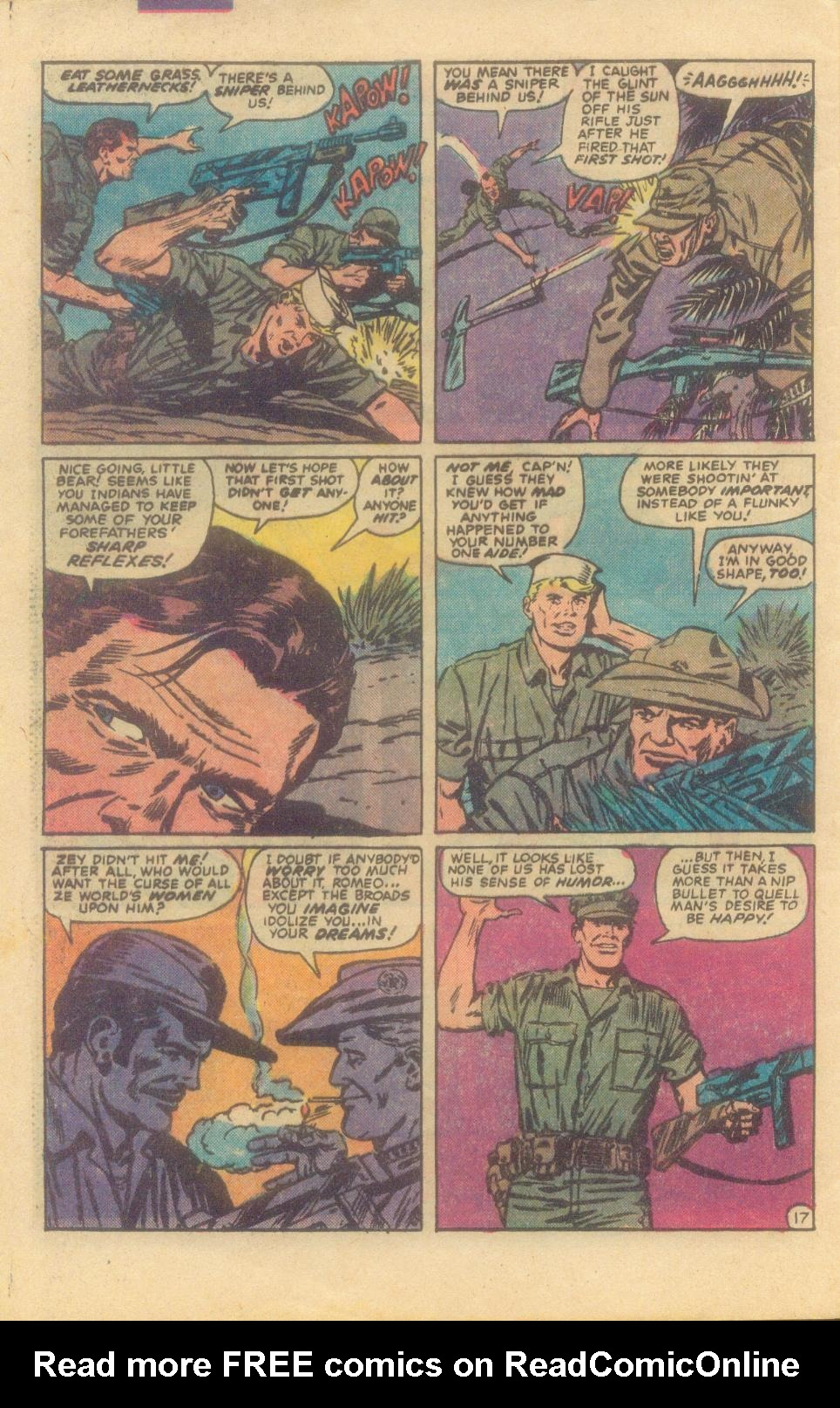 Read online Sgt. Fury comic -  Issue #160 - 32