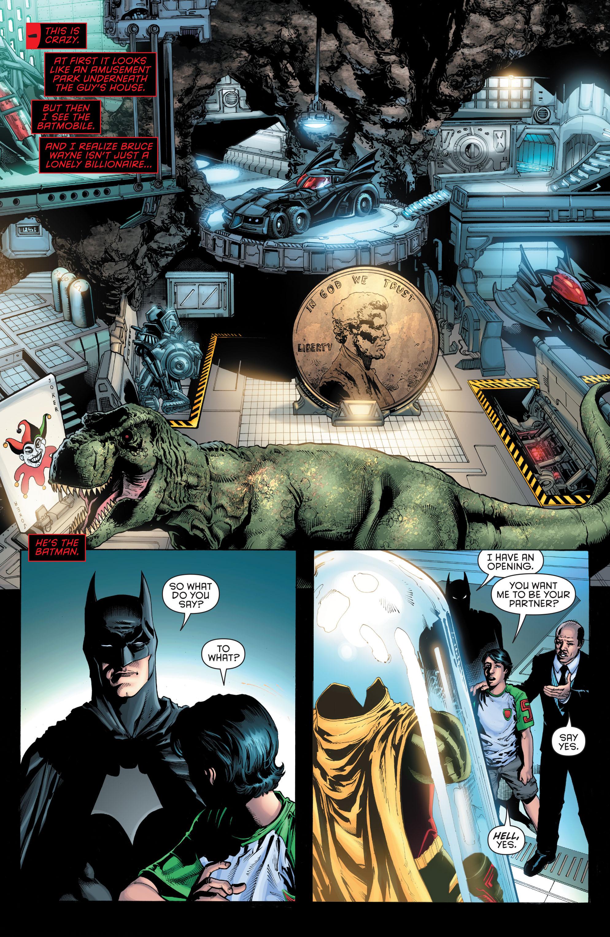 Read online Secret Origins (2014) comic -  Issue #5 - 16