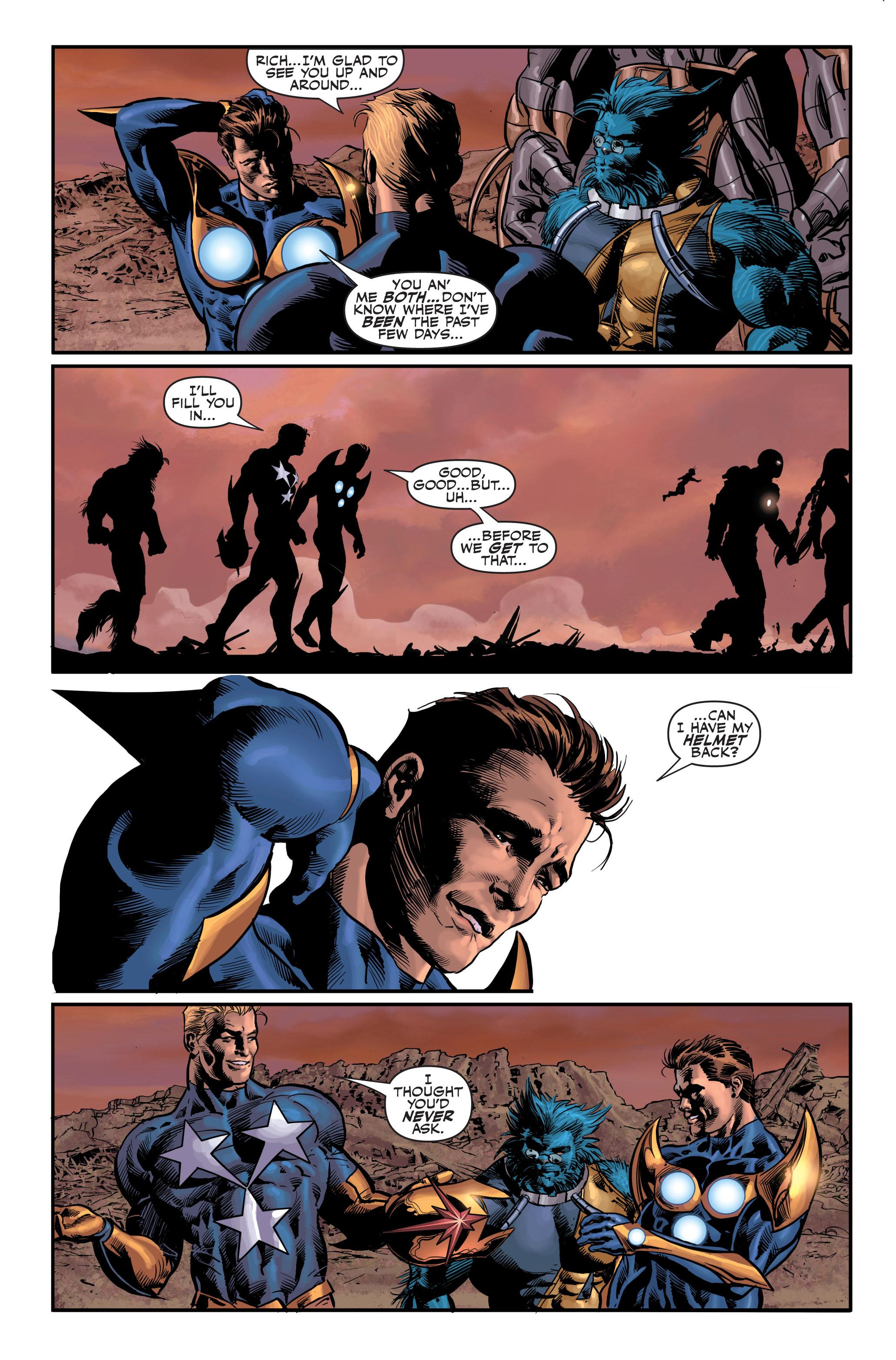 Read online Secret Avengers (2010) comic -  Issue #4 - 25