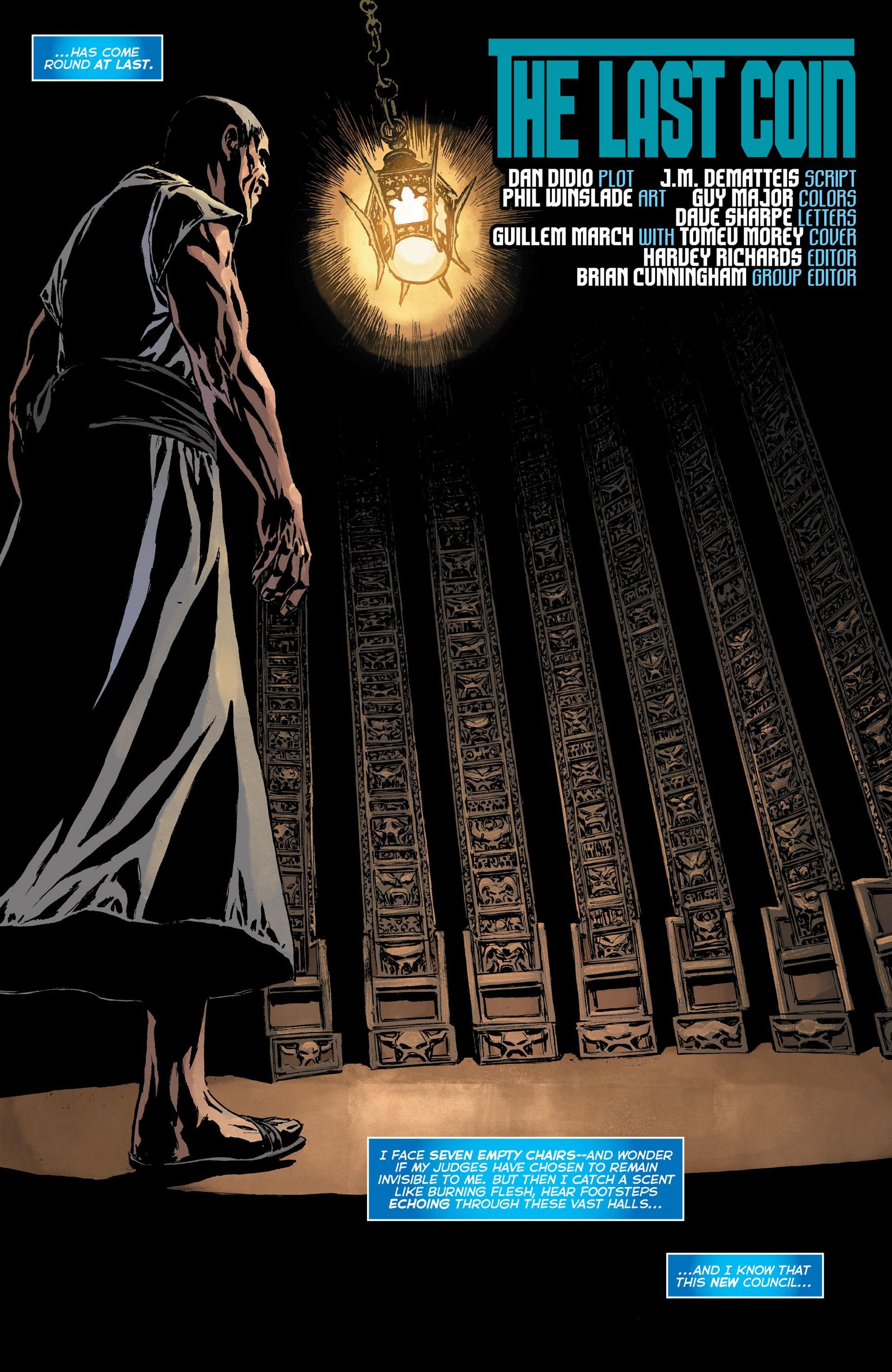 Read online Trinity of Sin: The Phantom Stranger: Futures End comic -  Issue # Full - 5